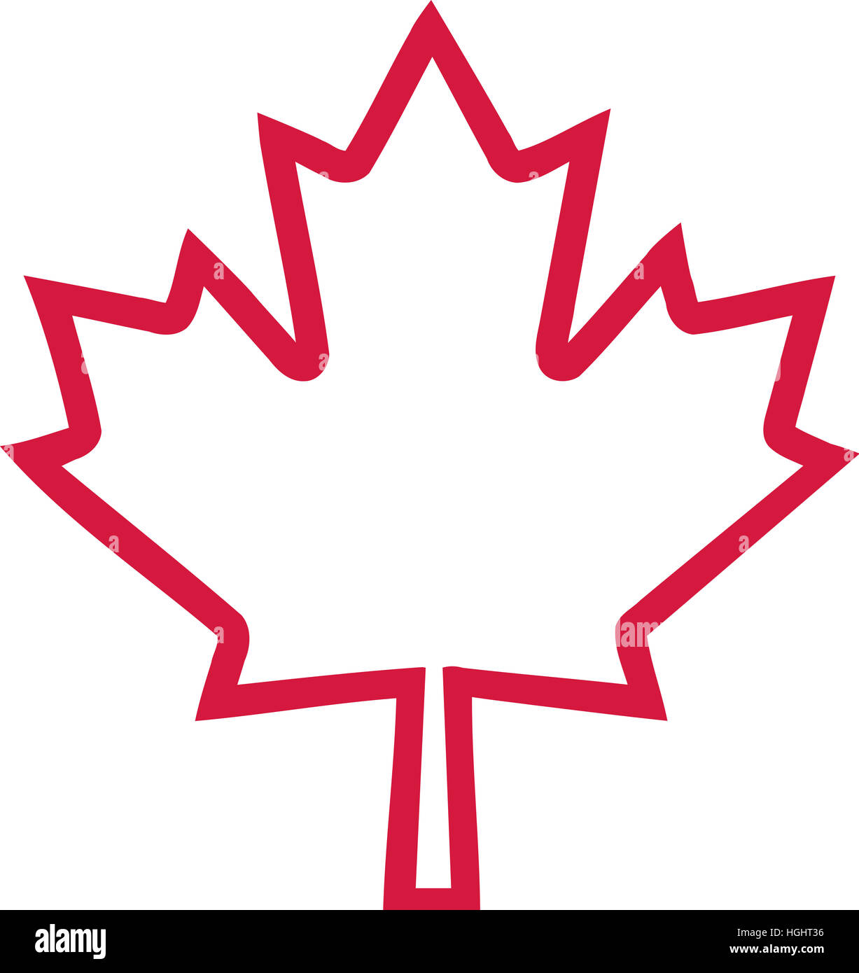 Canada Flag Maple Leaf Icon Stock Photos Canada Flag Maple Leaf