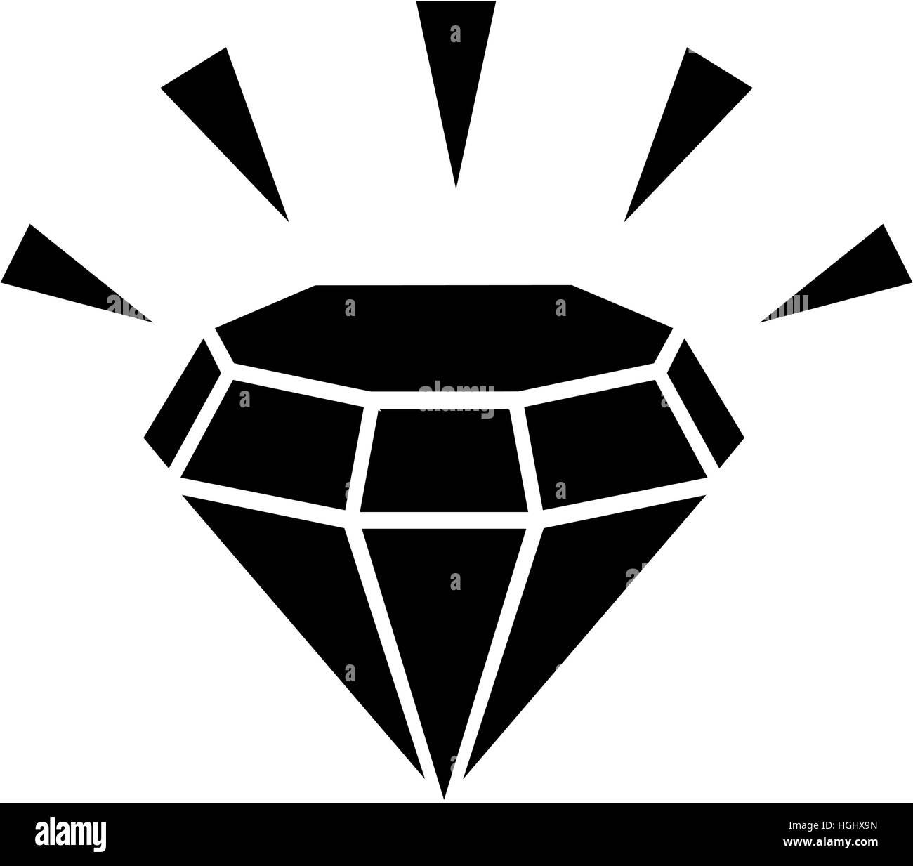 Diamond bling - Stock Image