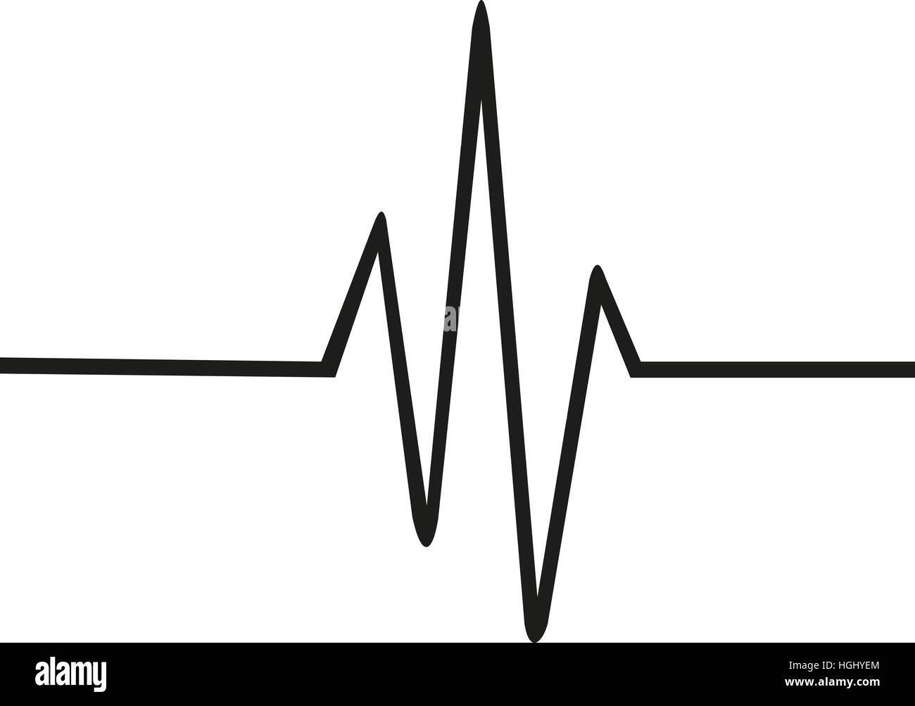 Heartbeat Line Art : Heartbeat black and white stock photos images alamy