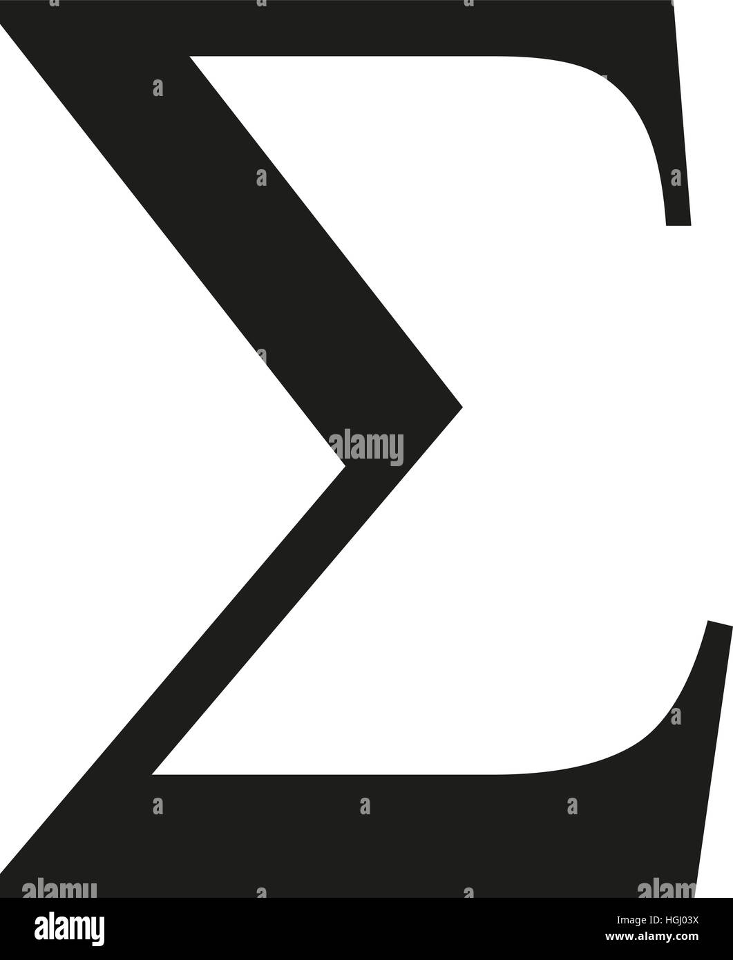 Sigma Symbol Stock Photos Sigma Symbol Stock Images Alamy