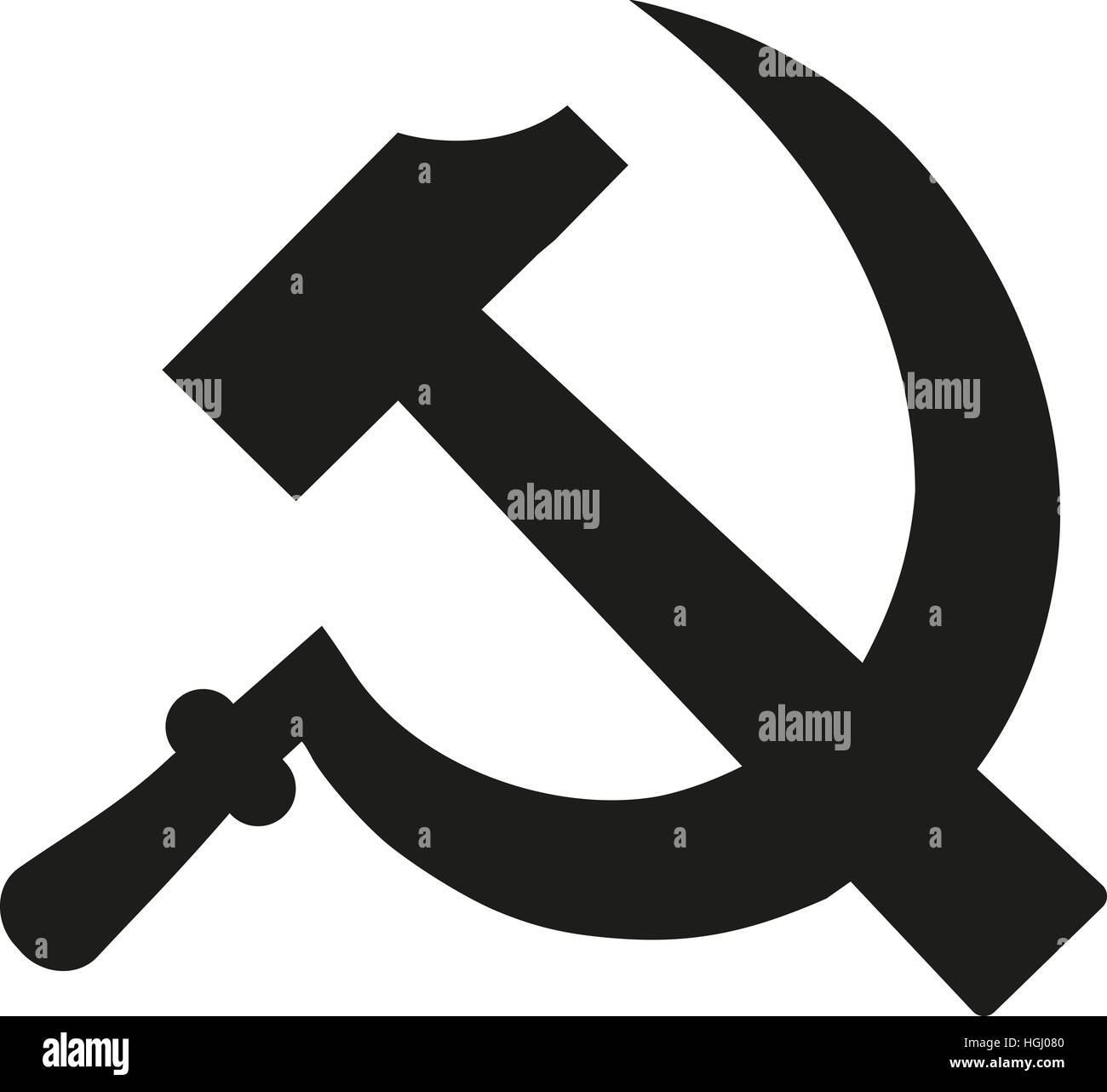 Symbol Of Communism Cut Out Stock Images Pictures Alamy