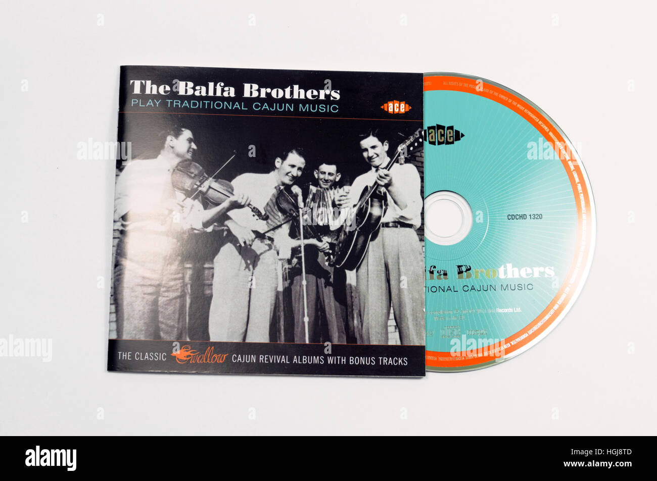 "The Balfa Brothers ""Play traditional Cajun music"" album Stock Photo"