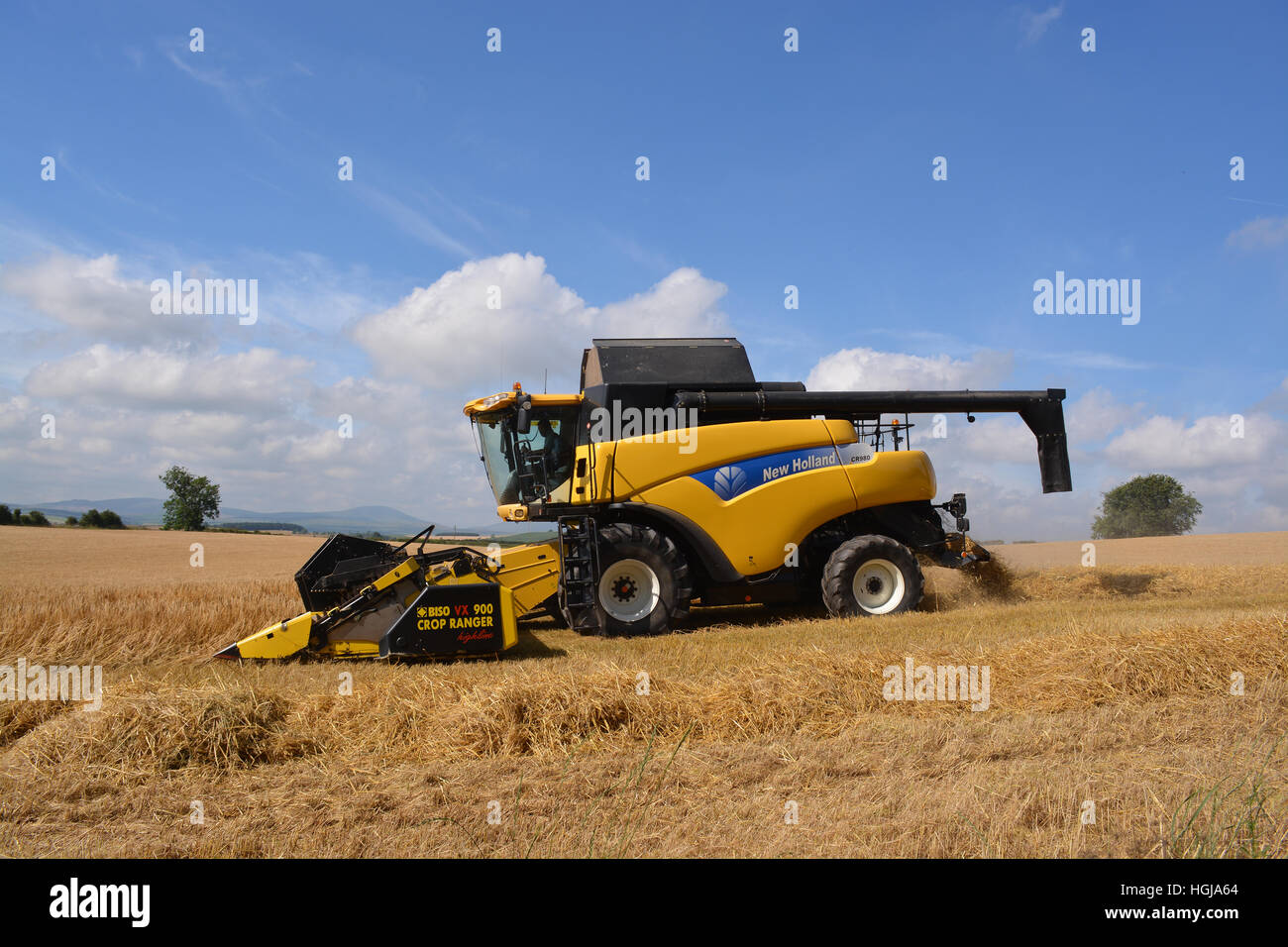 New Holland CR980 Combine Harvester - Stock Image