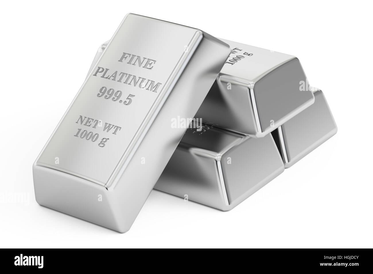 Platinum Metal Ingots Stock Photos & Platinum Metal Ingots ...