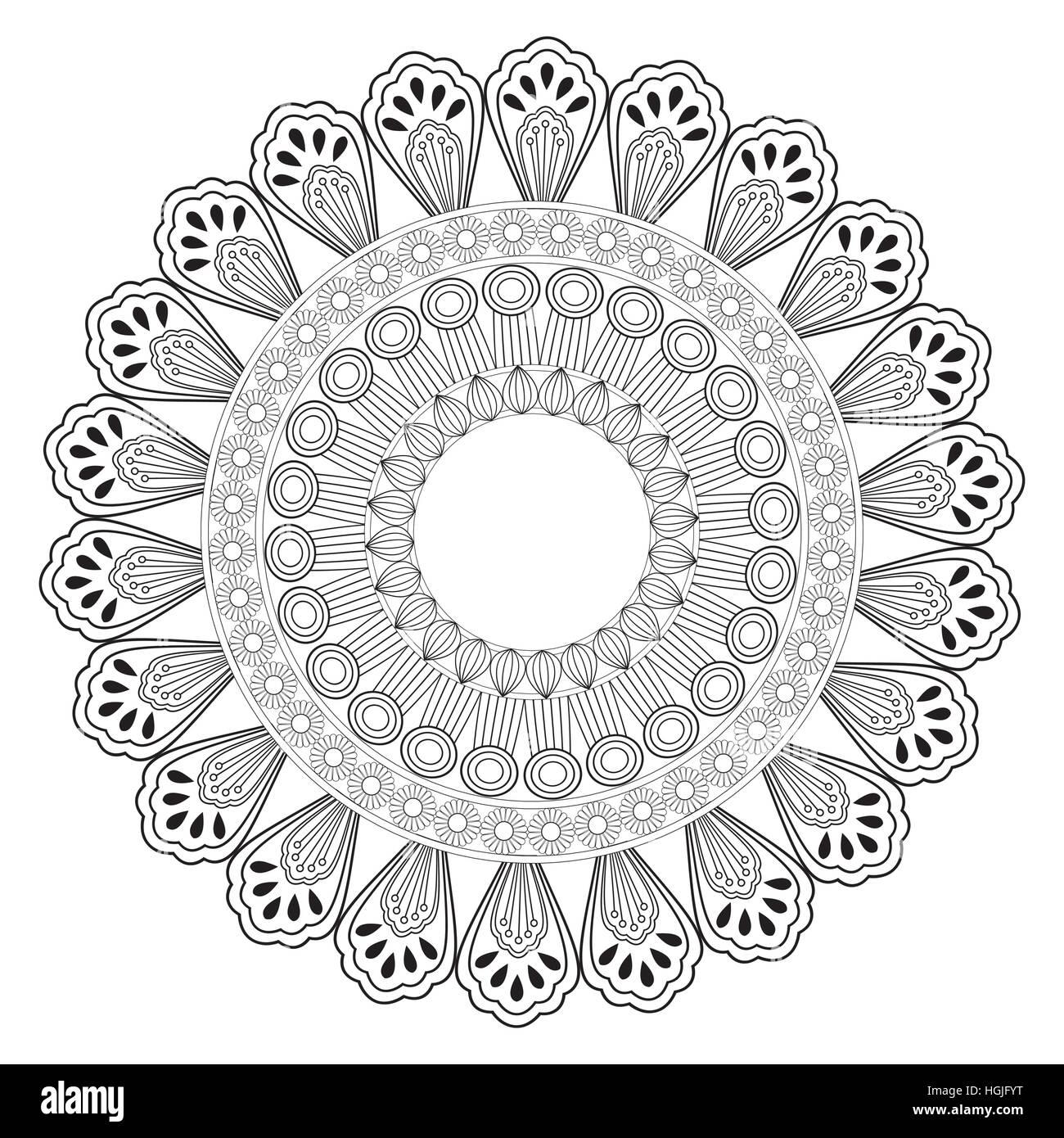 Intricate Mandala Stock Photos & Intricate Mandala Stock Images - Alamy