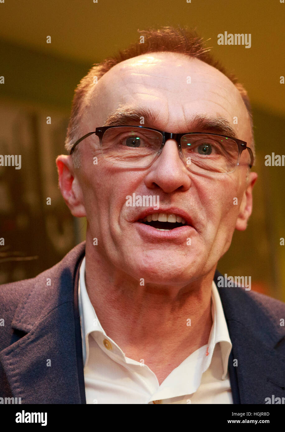 Edinburgh, UK. 22nd January, 2017. T2 Trainspotting premiere at Edinburgh Cineworld. Scotland. Pictured Danny Boyle. - Stock Image