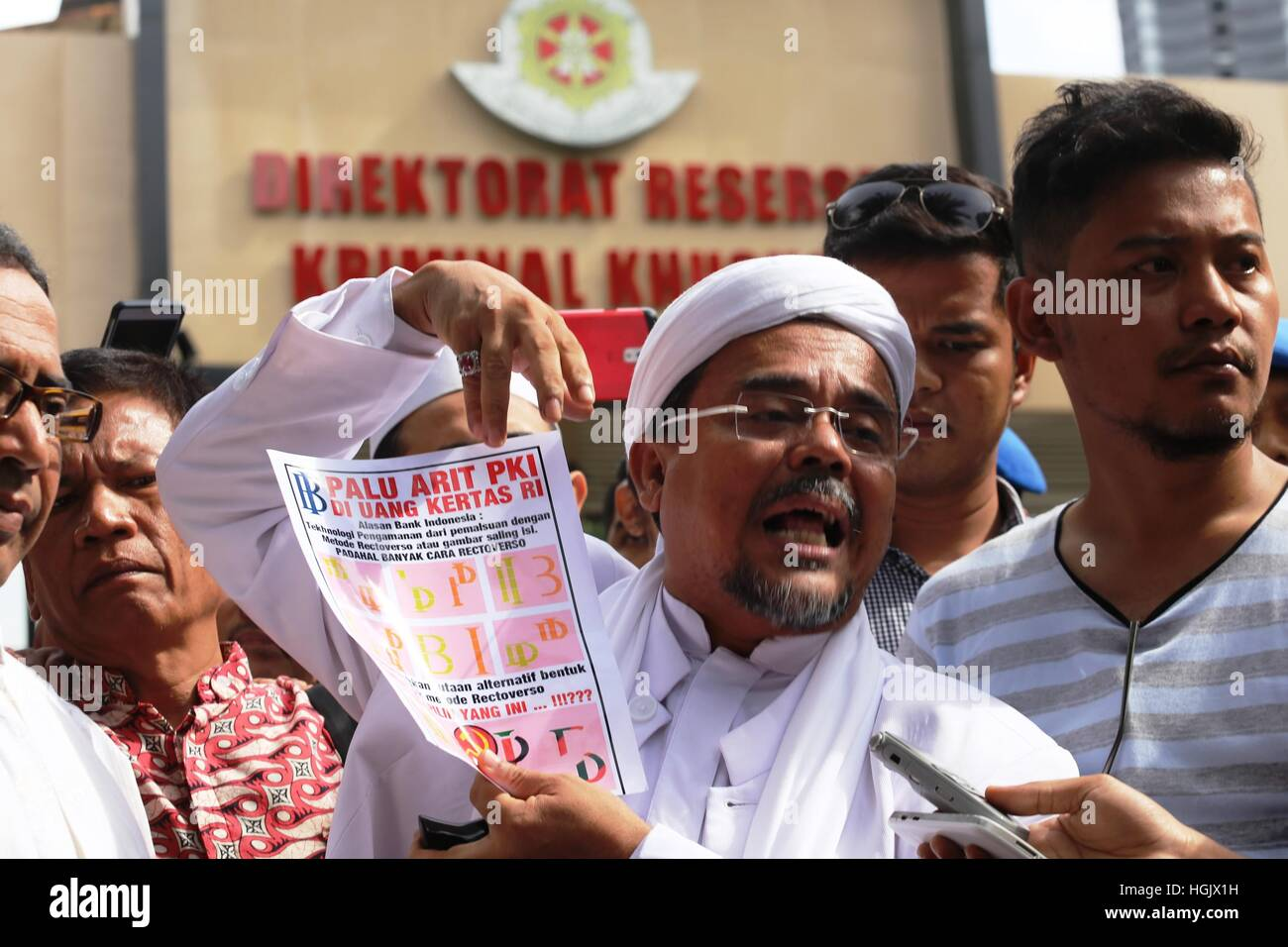 Habib Rizieq Shihab High Resolution Stock Photography And Images Alamy