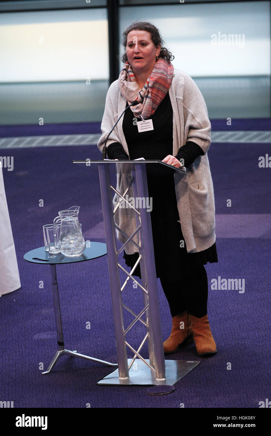 City Hall, London, UK. 23rd Jan, 2017. Rabbi Debbie Young-Somers, Movement for Reform Judaism. Sadiq Khan, the Mayor - Stock Image