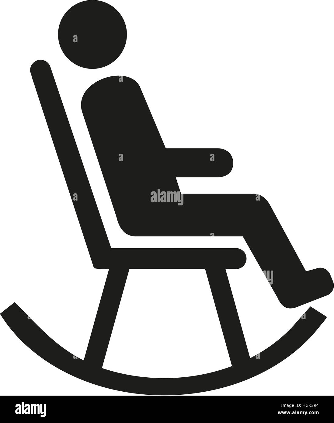Picture of: Page 2 Old Man Rocking Chair High Resolution Stock Photography And Images Alamy