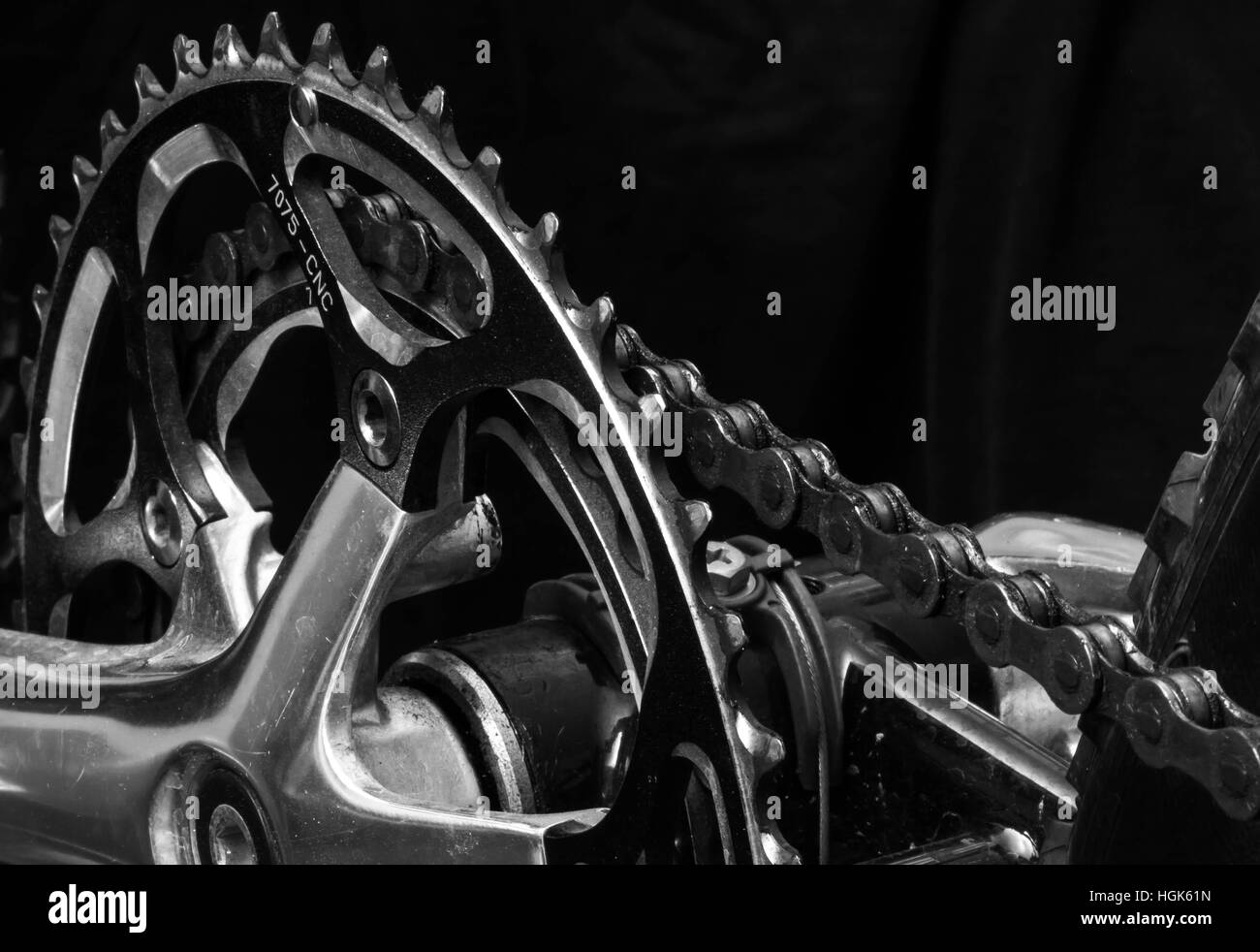 The Gears of Hard Work - Stock Image