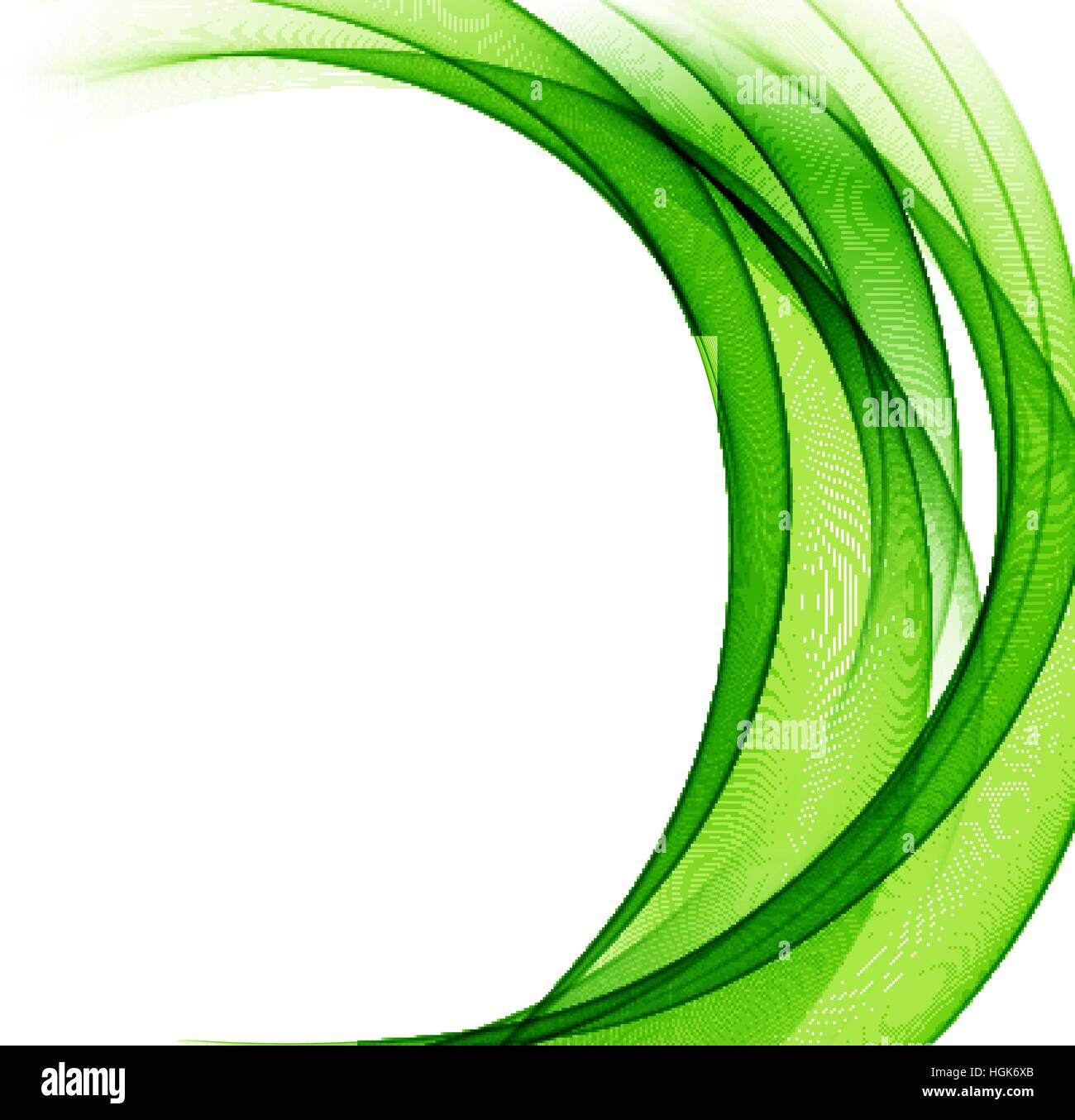 abstract green wavy lines colorful vector background stock vector rh alamy com green vector background psd green vector background cdr