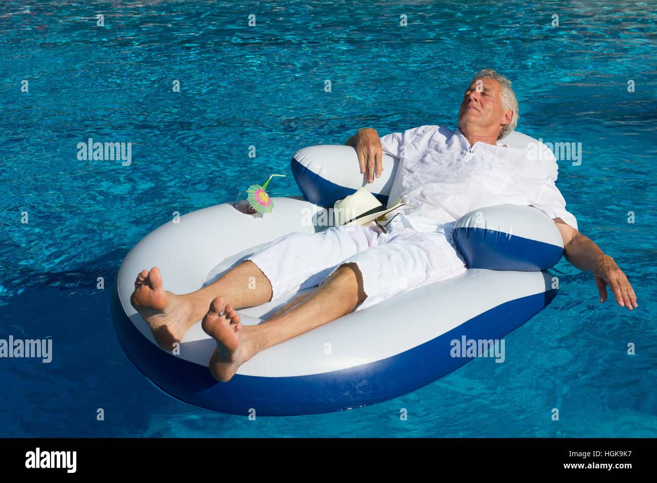 Senior Swimming Pool Stock Photos Senior Swimming Pool Stock Images Alamy