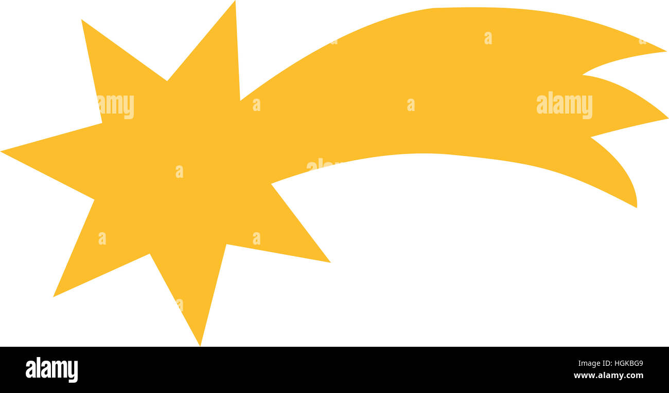 Shooting Star Symbol Stock Photo 130733241 Alamy
