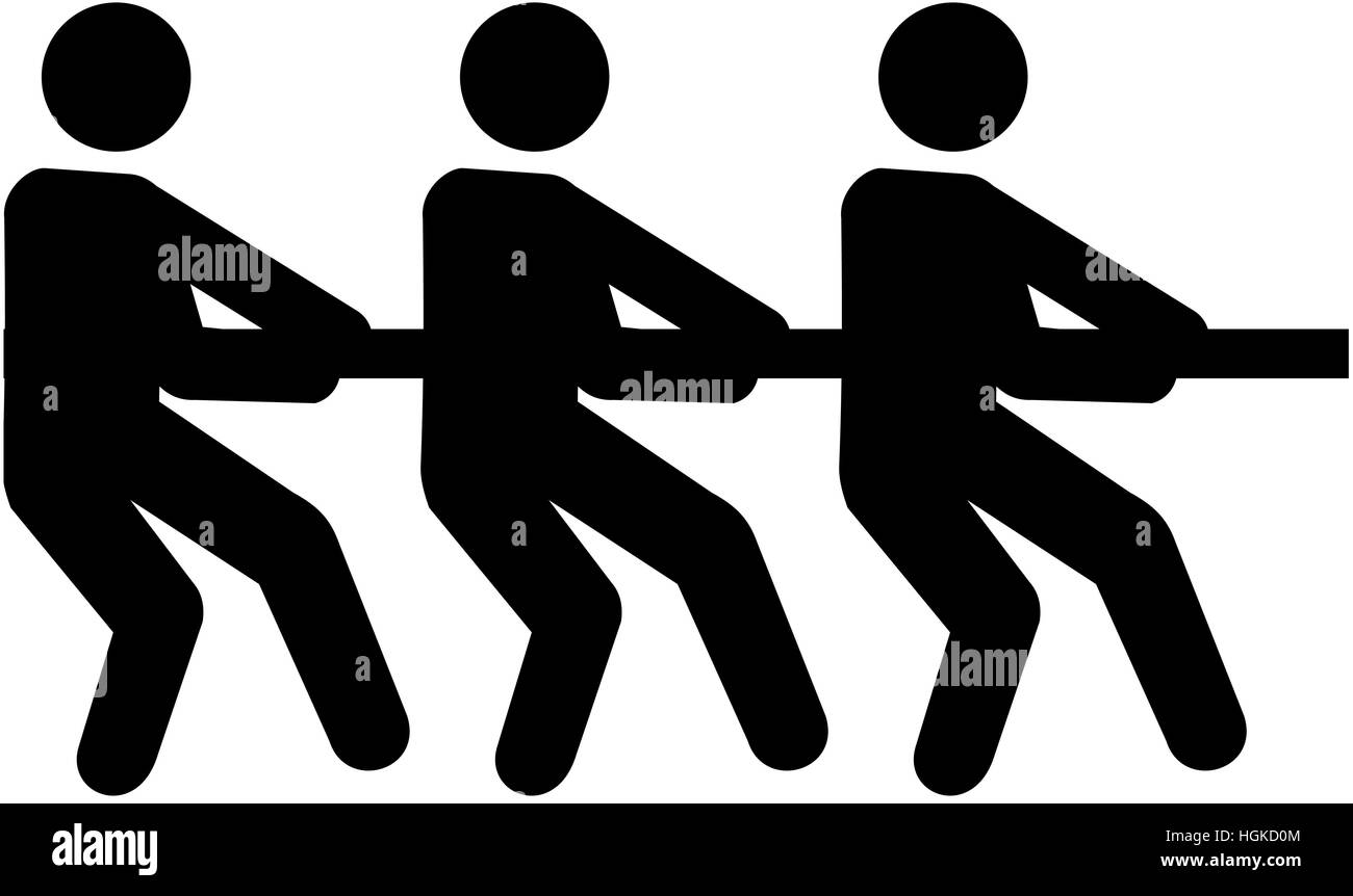 Symbol Tug Of War Stock Photos Symbol Tug Of War Stock Images Alamy