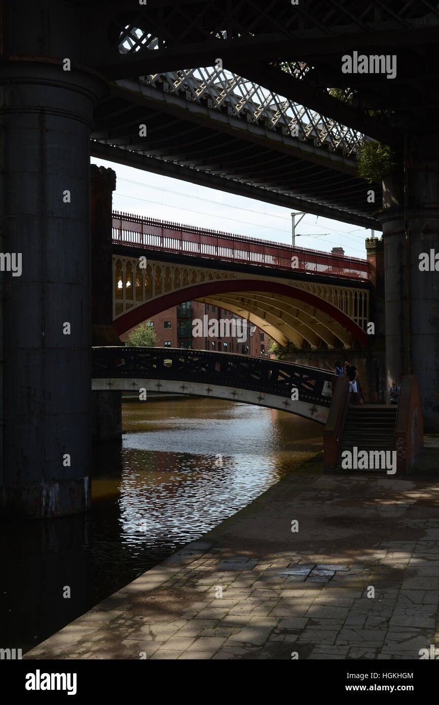 Castlefield, Manchester Stock Photo