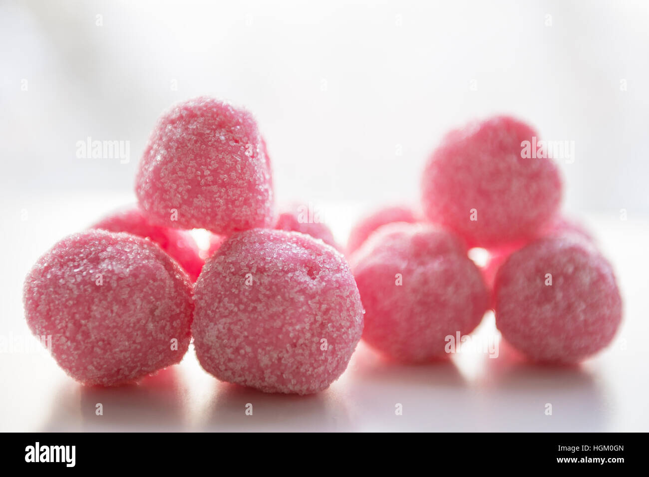 Set for bath bombs. Beauty products for body care. Photo closeup - Stock Image