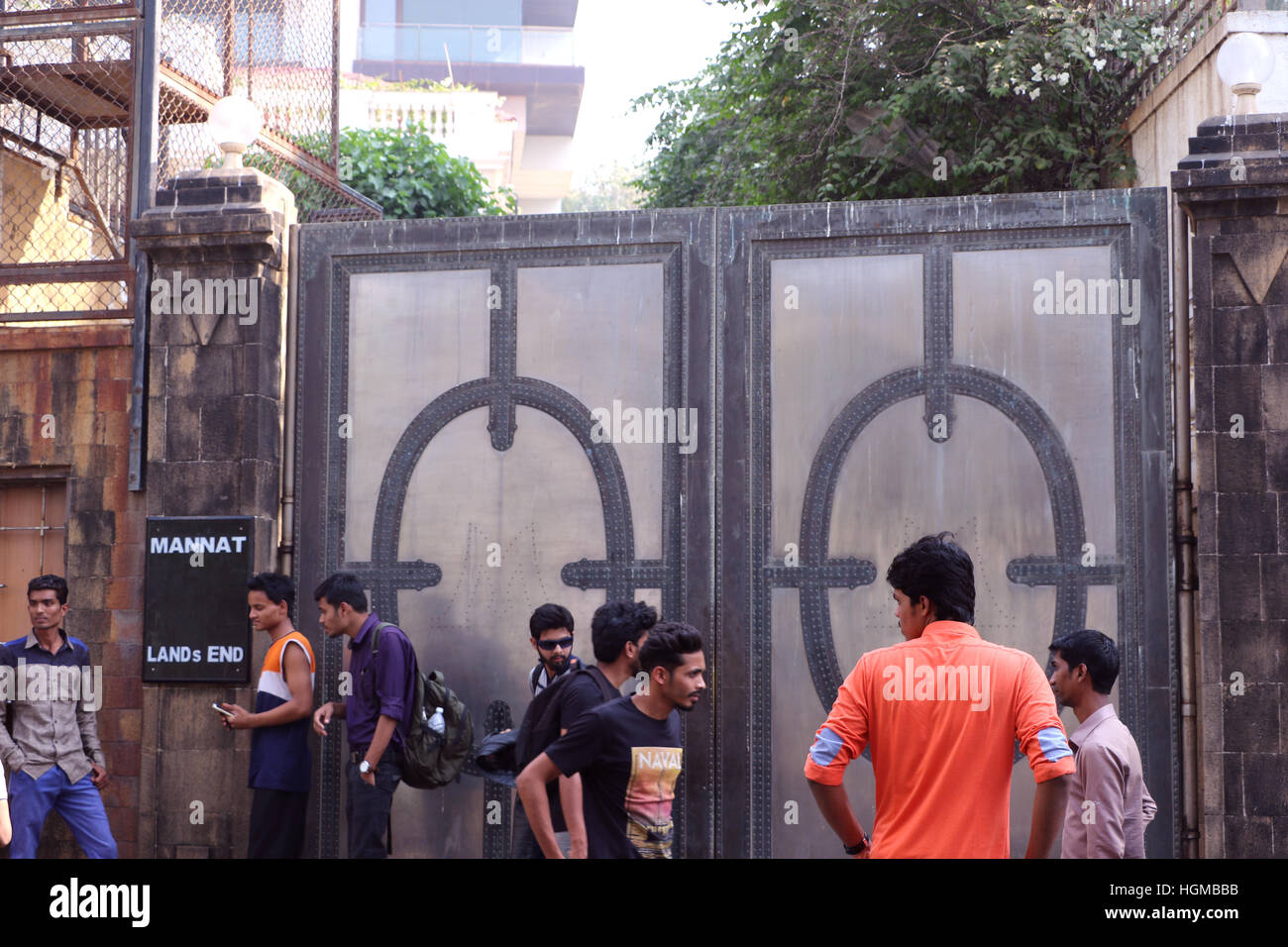 Bollywood Super Star Shahrukh Khan S House Mannat Situated
