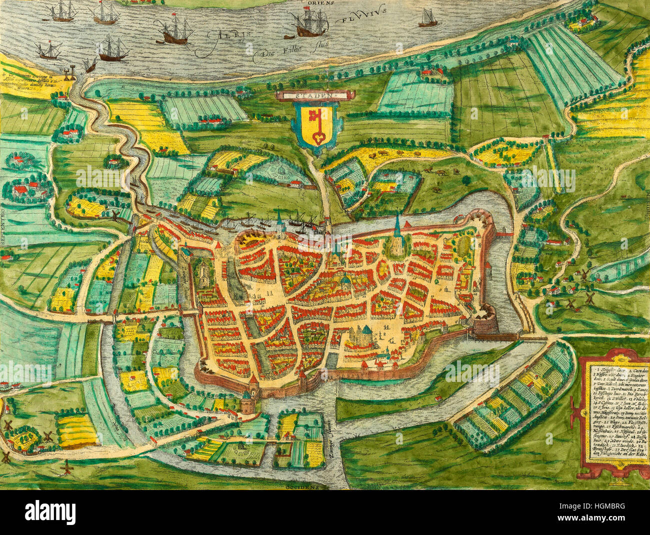 Old Map Of Amsterdam Stock Photos Old Map Of Amsterdam Stock - Amsterdam old map