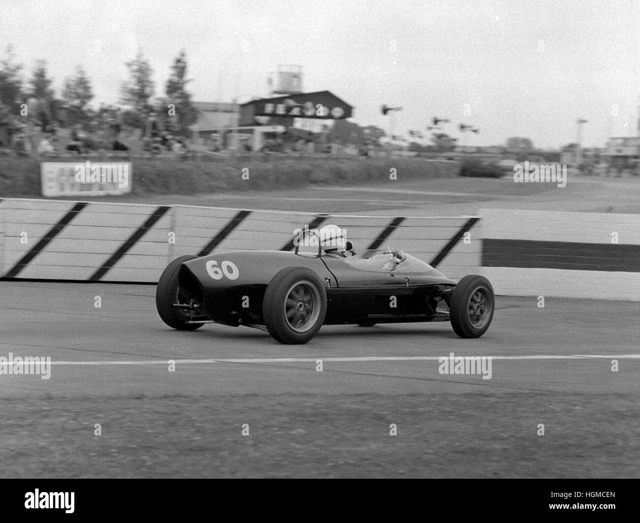 Lola-Ford, Bill McCowen Goodwood 10th June 1961 - Stock Image