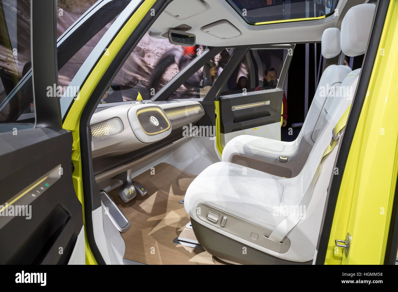 Detroit, Michigan - Detroit, Michigan USA - 10 January 2017 - vehicle on display at the North American International - Stock Image