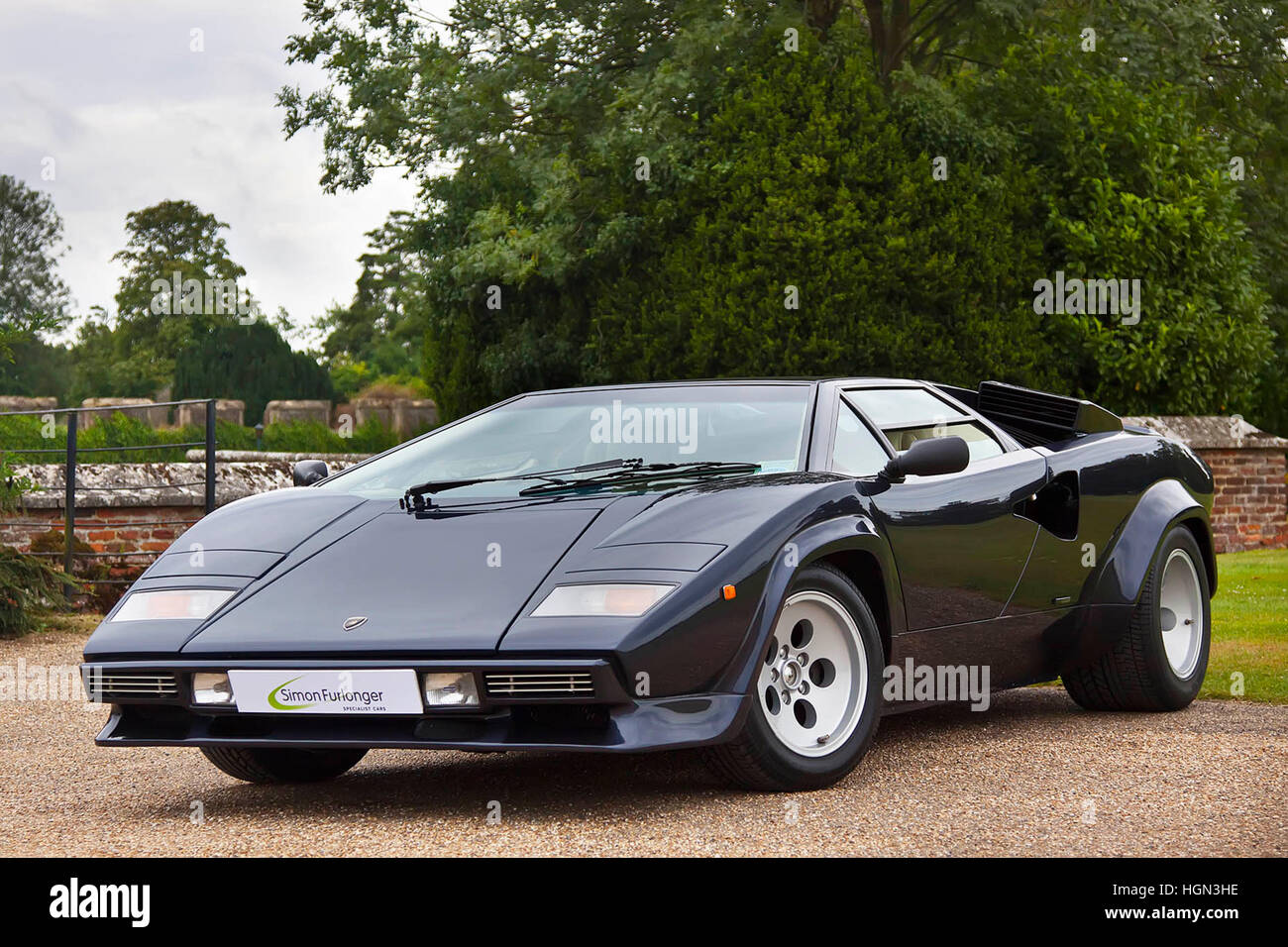 Lamborghini Countach 5000 Quattrovalvole Stock Photo 130770906 Alamy