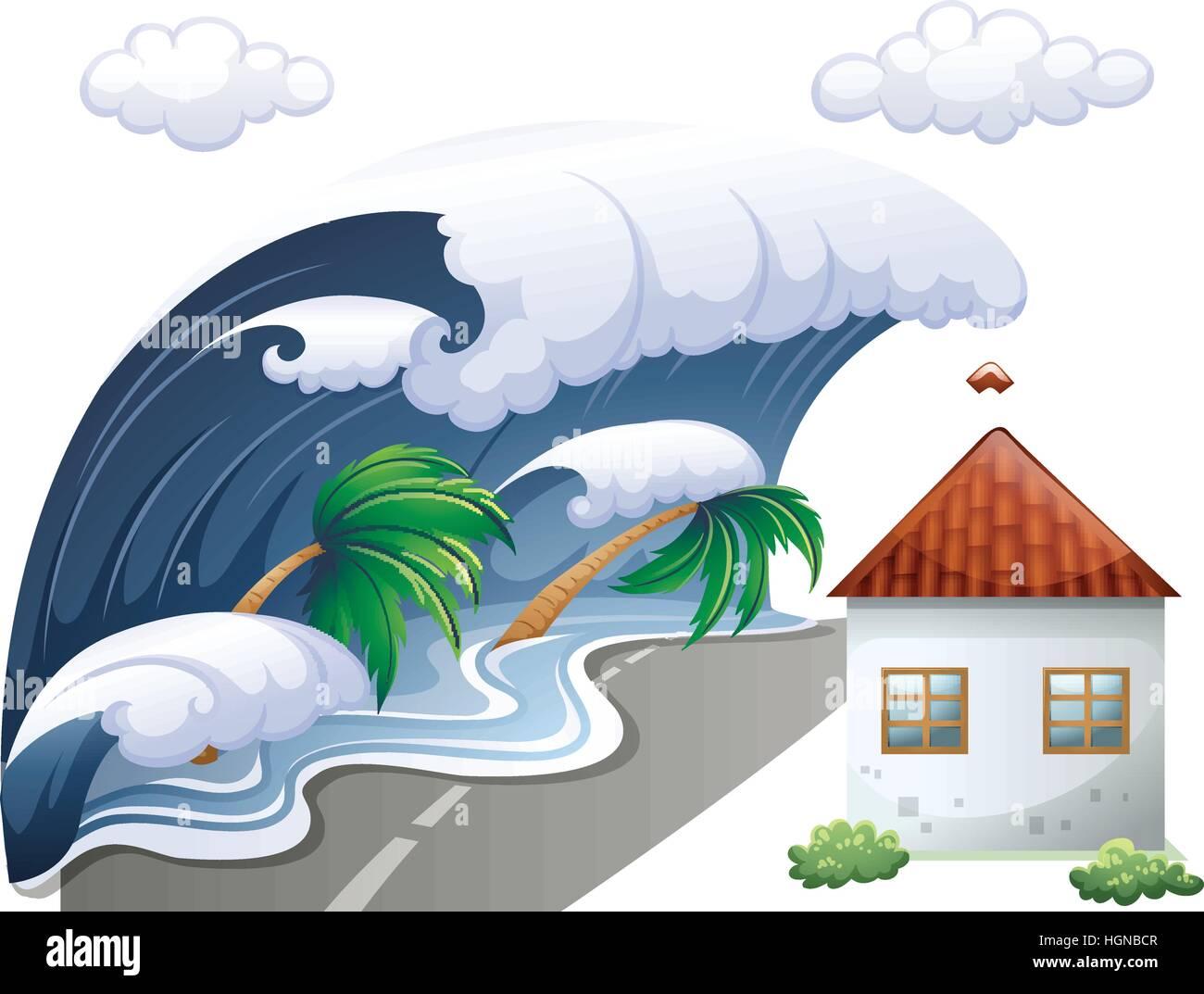 Maremoto Caricatura