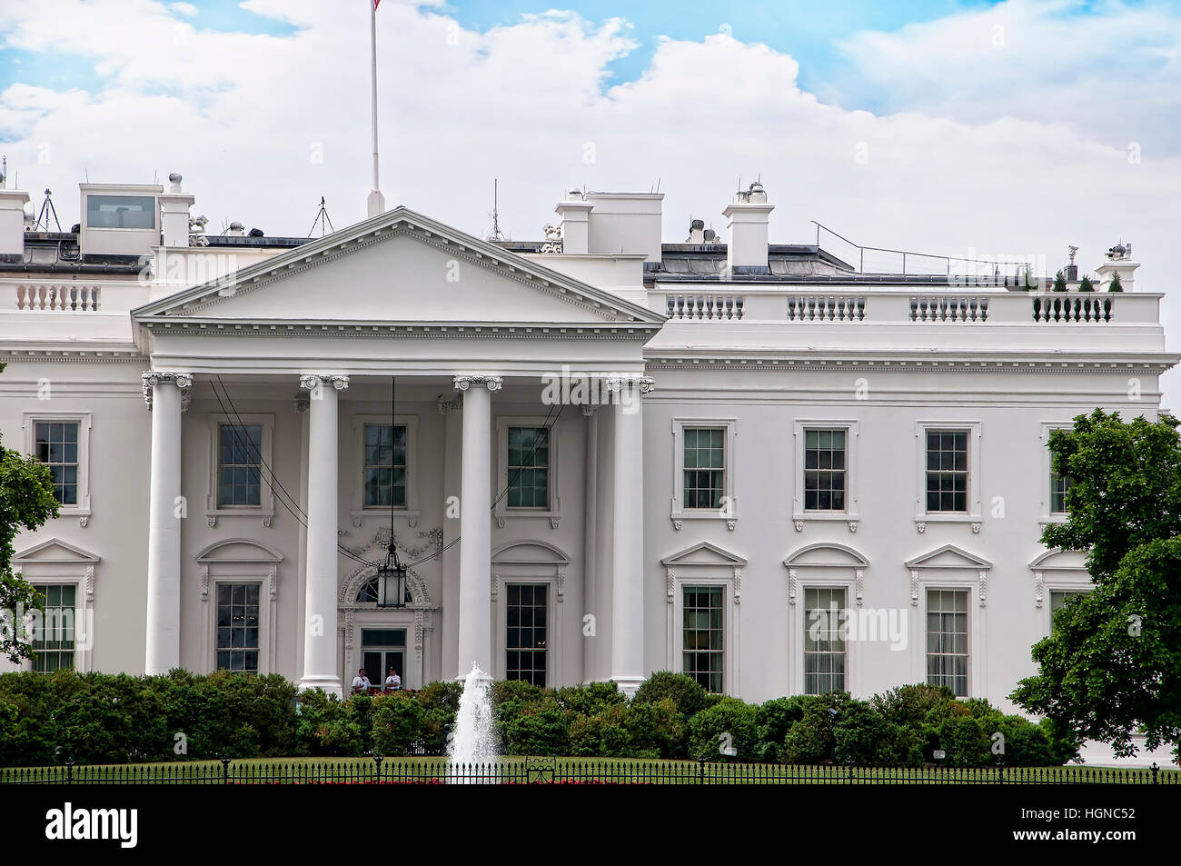 The White House In Washington The Official Residence Of The President Stock Photo Alamy