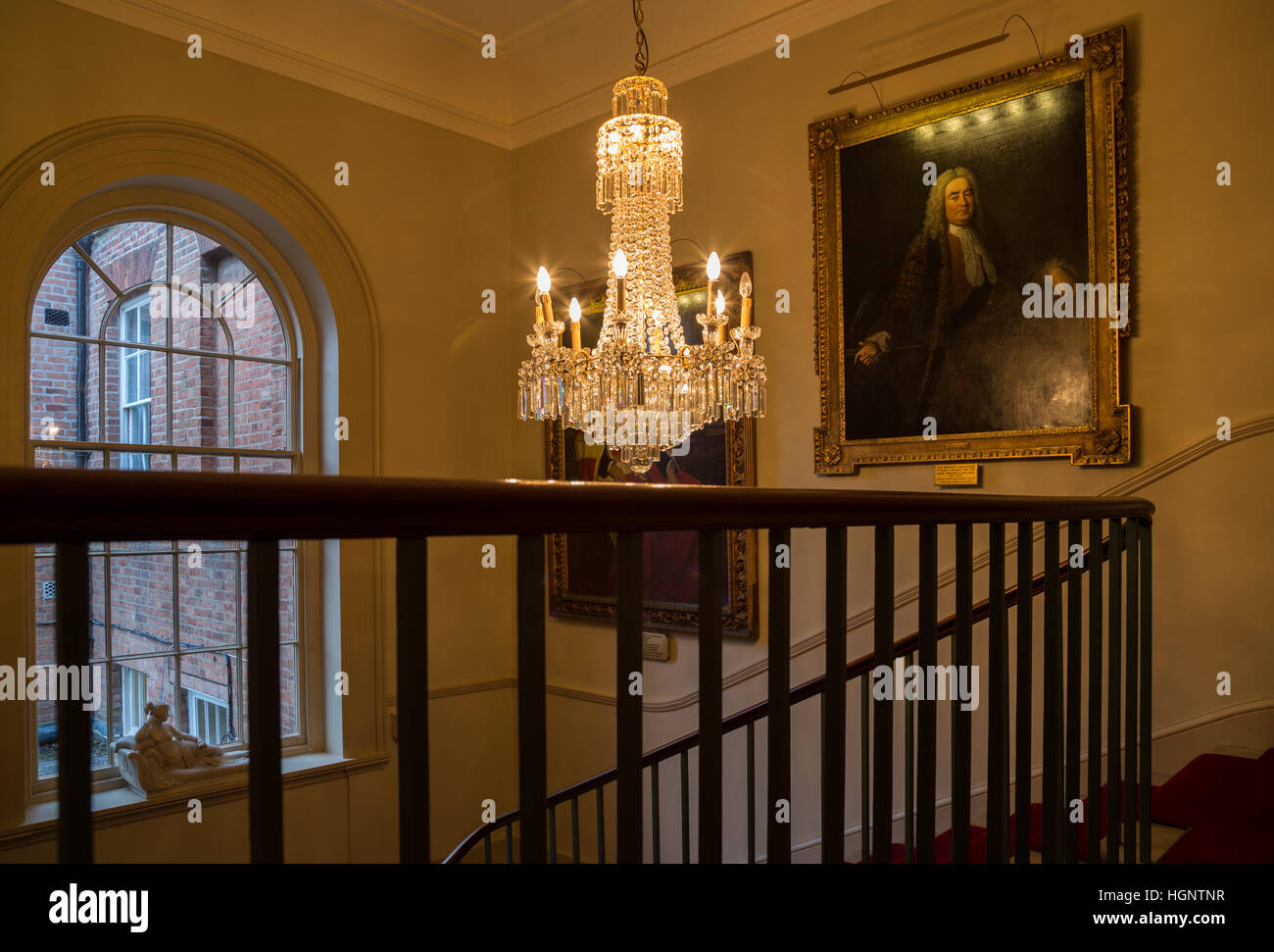 English Country House Interior Decoration   Stock Image