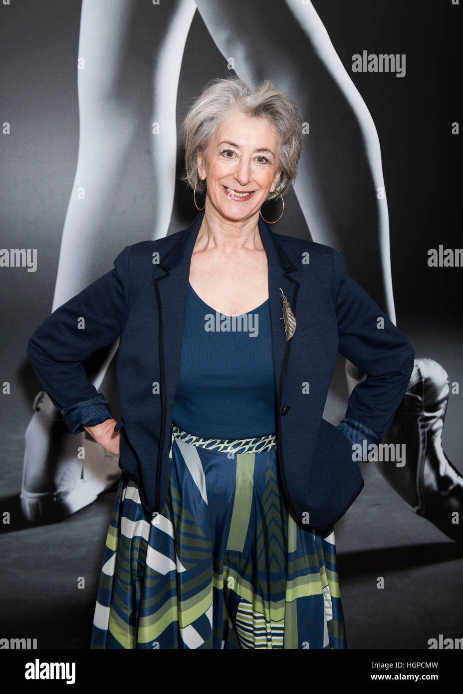 62ae08c74 Maureen Lipman attending the opening night party of English National  Ballet's Giselle at St Martins Lane