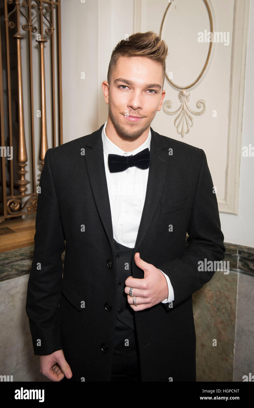 9576db5fd Matt Terry attending the opening night party of English National Ballet's  Giselle at St Martins Lane