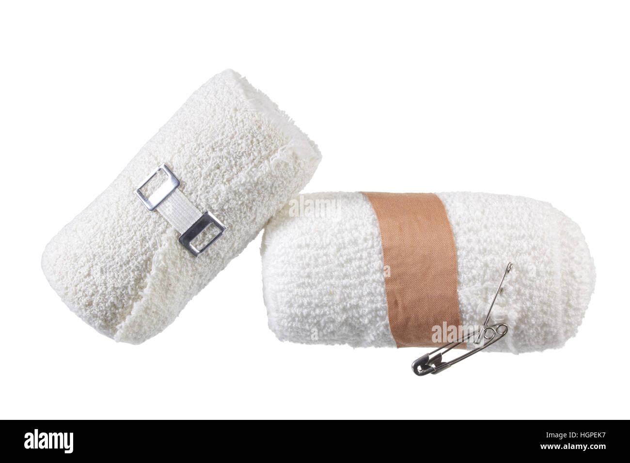 Rolls of Bandages - Stock Image
