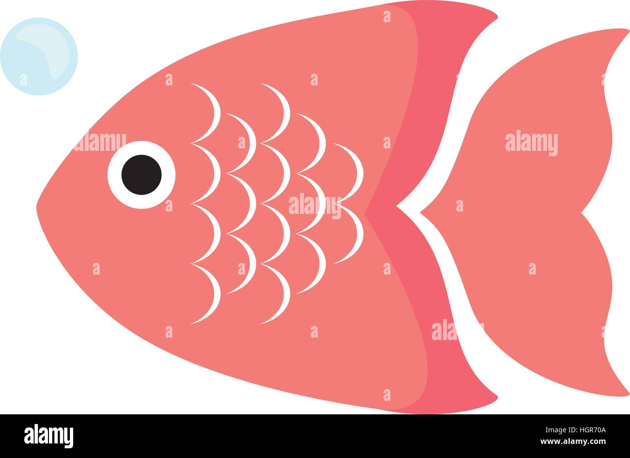 multi color fish icon image vector illustration design Stock Vector ...