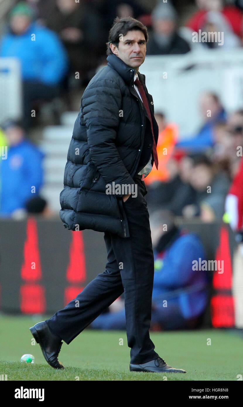 Middlesbrough manager Aitor Karanka Stock Photo: 130818836
