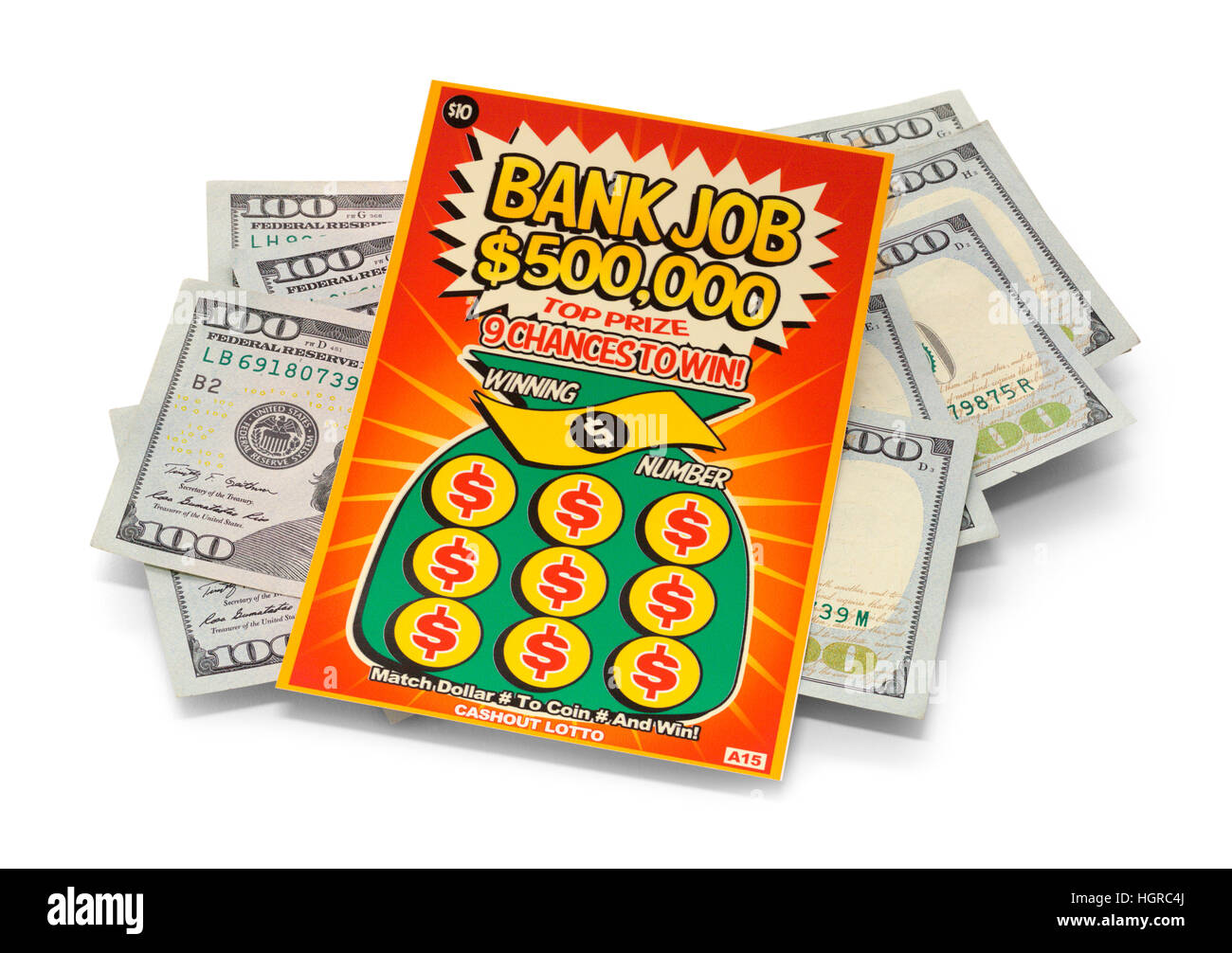Winning Lottery Scratch Ticket Stock Photos & Winning Lottery