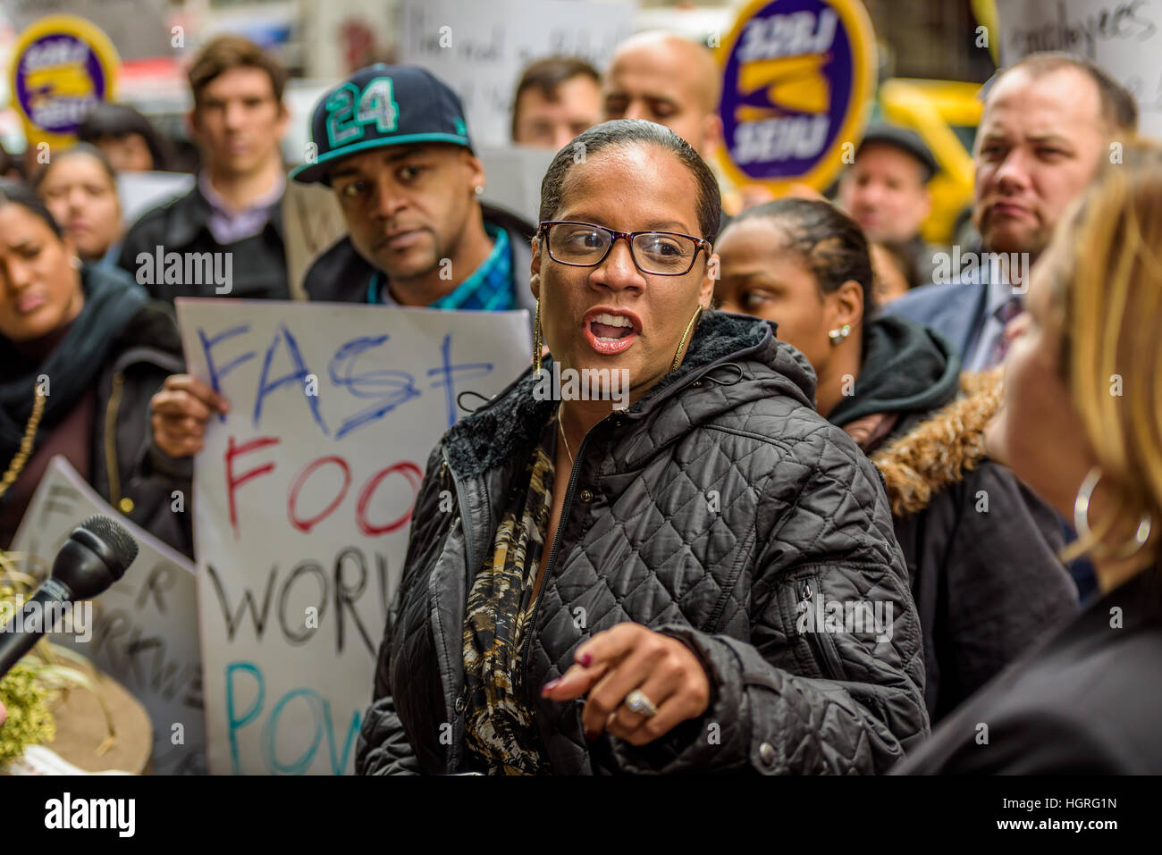 New York, United States. 12th Jan, 2017. New York City Council Member Julissa Ferreras-Copeland - On Thursday, January - Stock Image