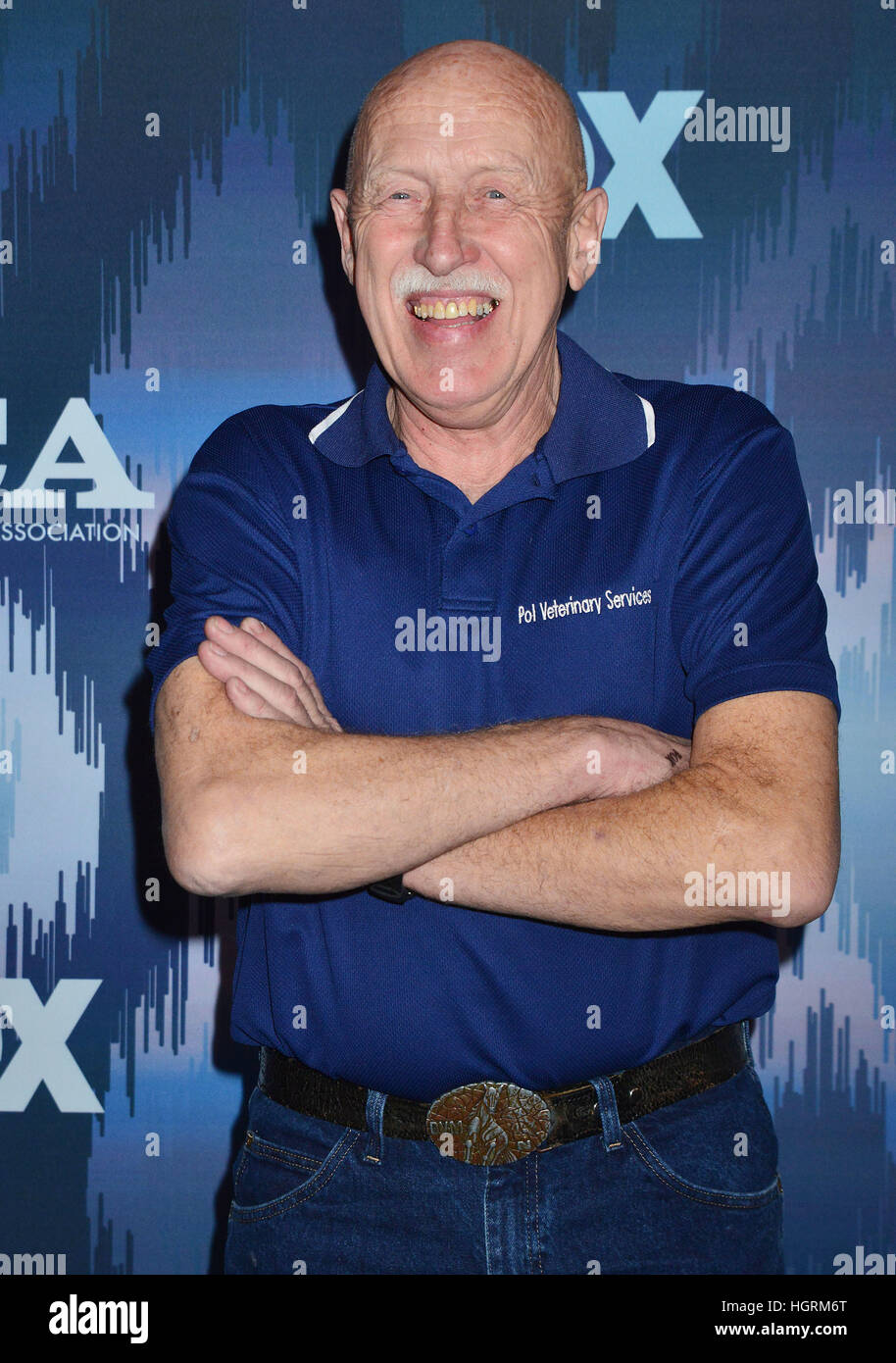 Dr Jan Pol arriving at the FOX All-Star Party 2017 Winter