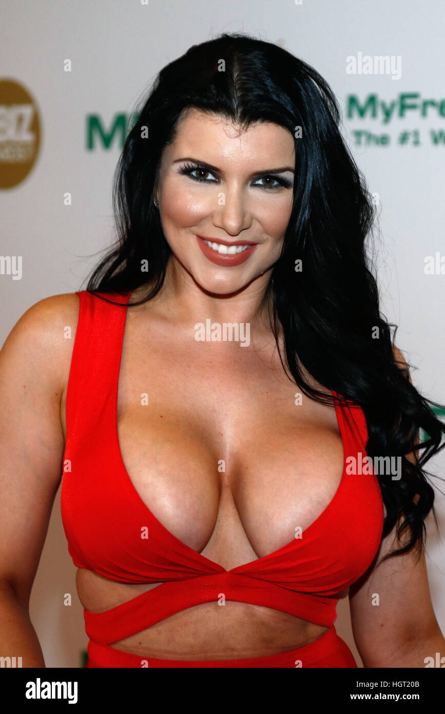 Los Angeles, Us. 13th Jan, 2017. Adult film actress Romi Rain arrives