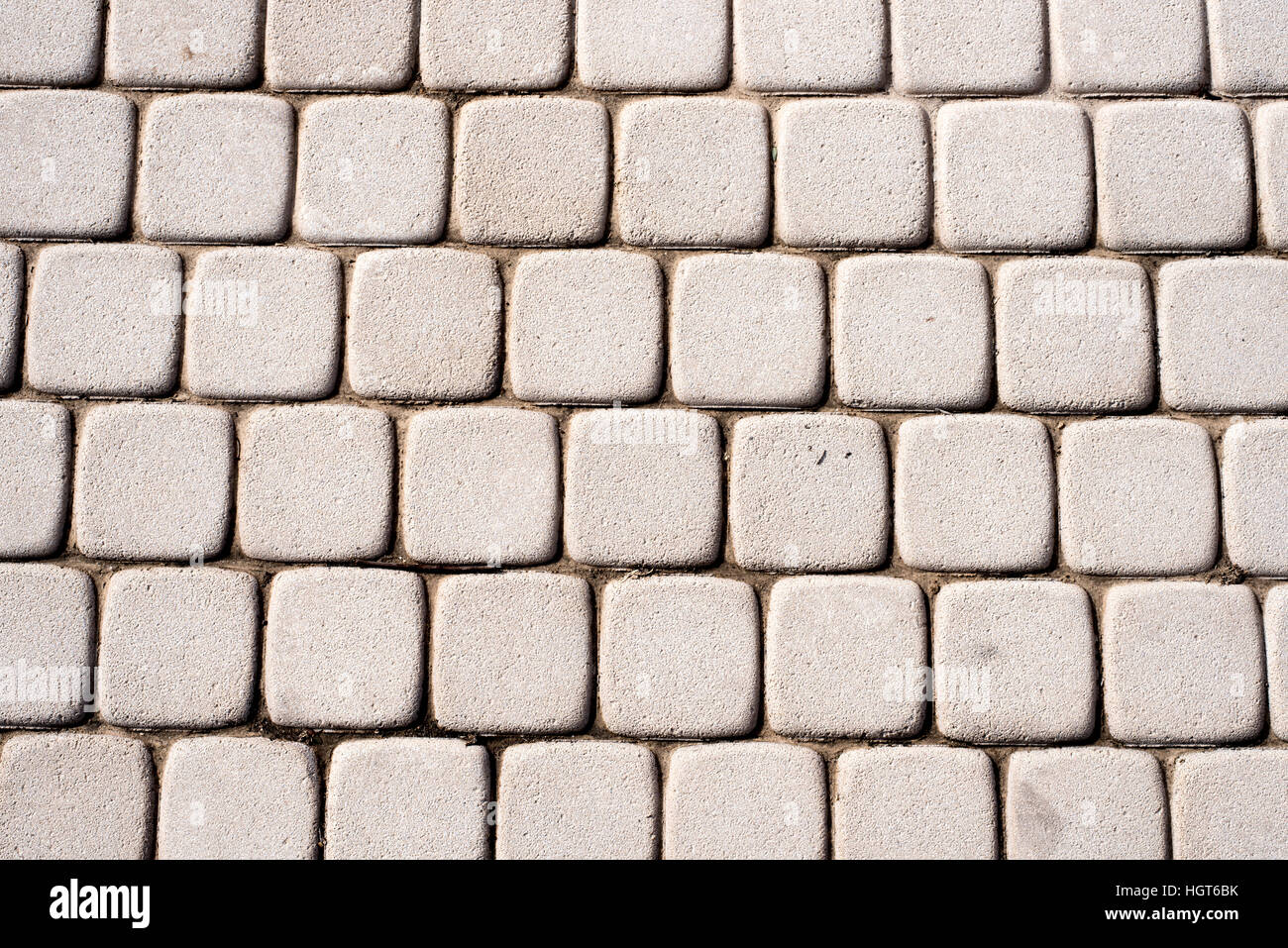 Cobble stone floor texture for design or as background - Stock Image