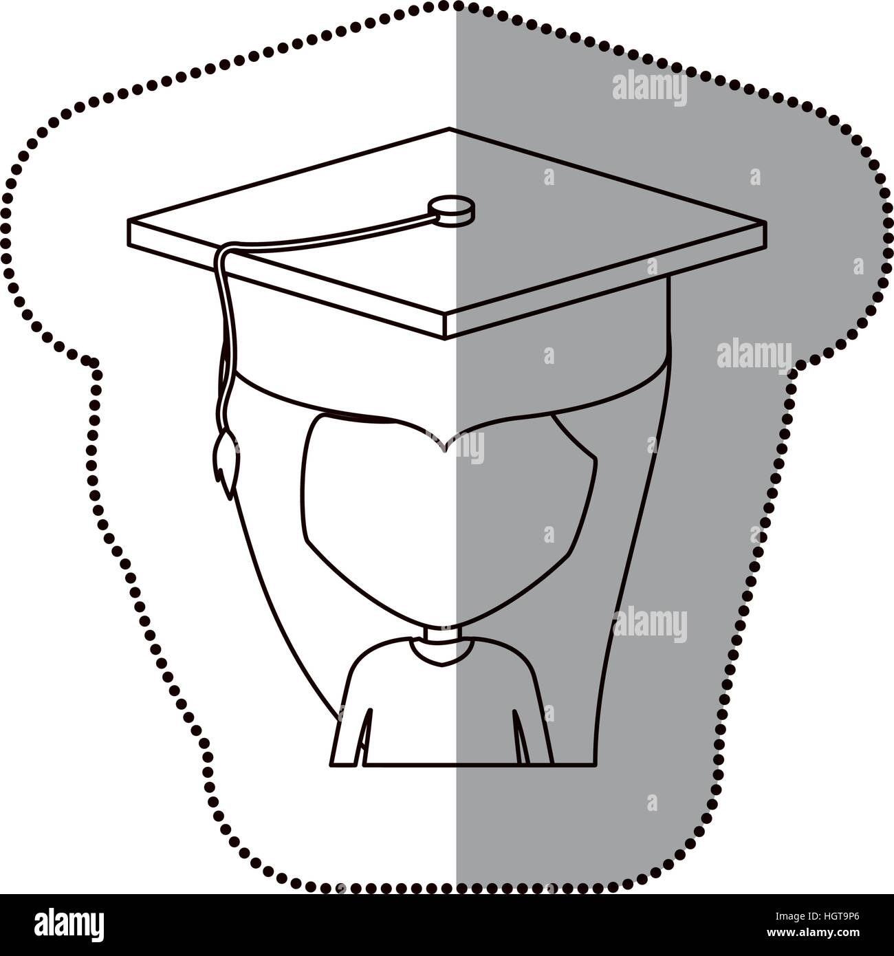 Boy Graduation Cap Design Stock Photos & Boy Graduation Cap Design ...