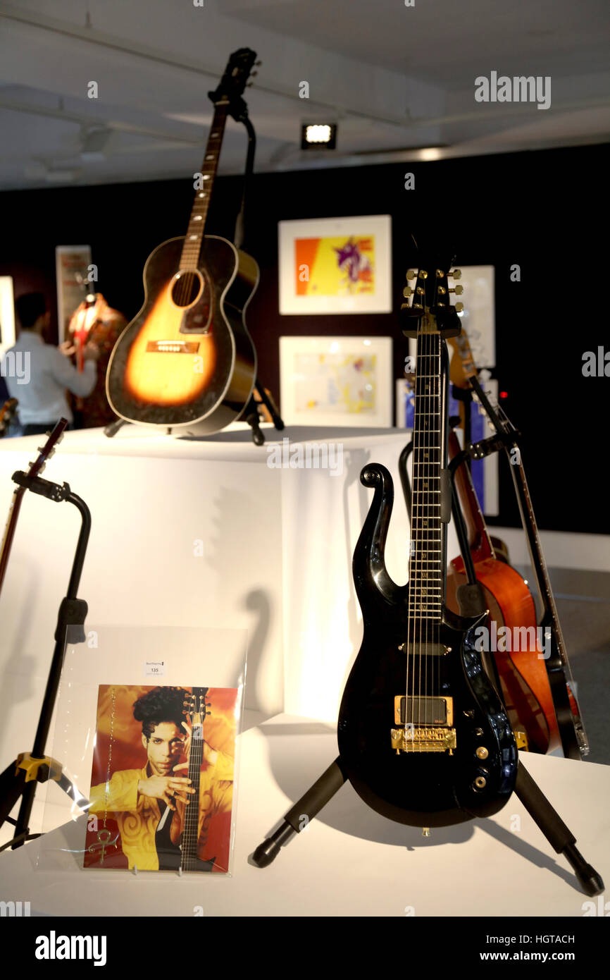 Jimi Hendrix Owned The Epiphone FT 79 Acoustic Guitar Estimated At 80000 120000 And Prince Cloud 25000 30000