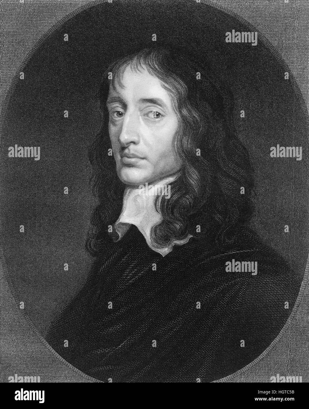 John Selden, 1584-1654, an English jurist, scholar and polymath, John Selden, 1584-1654, ein englischer Universalgelehrter - Stock Image