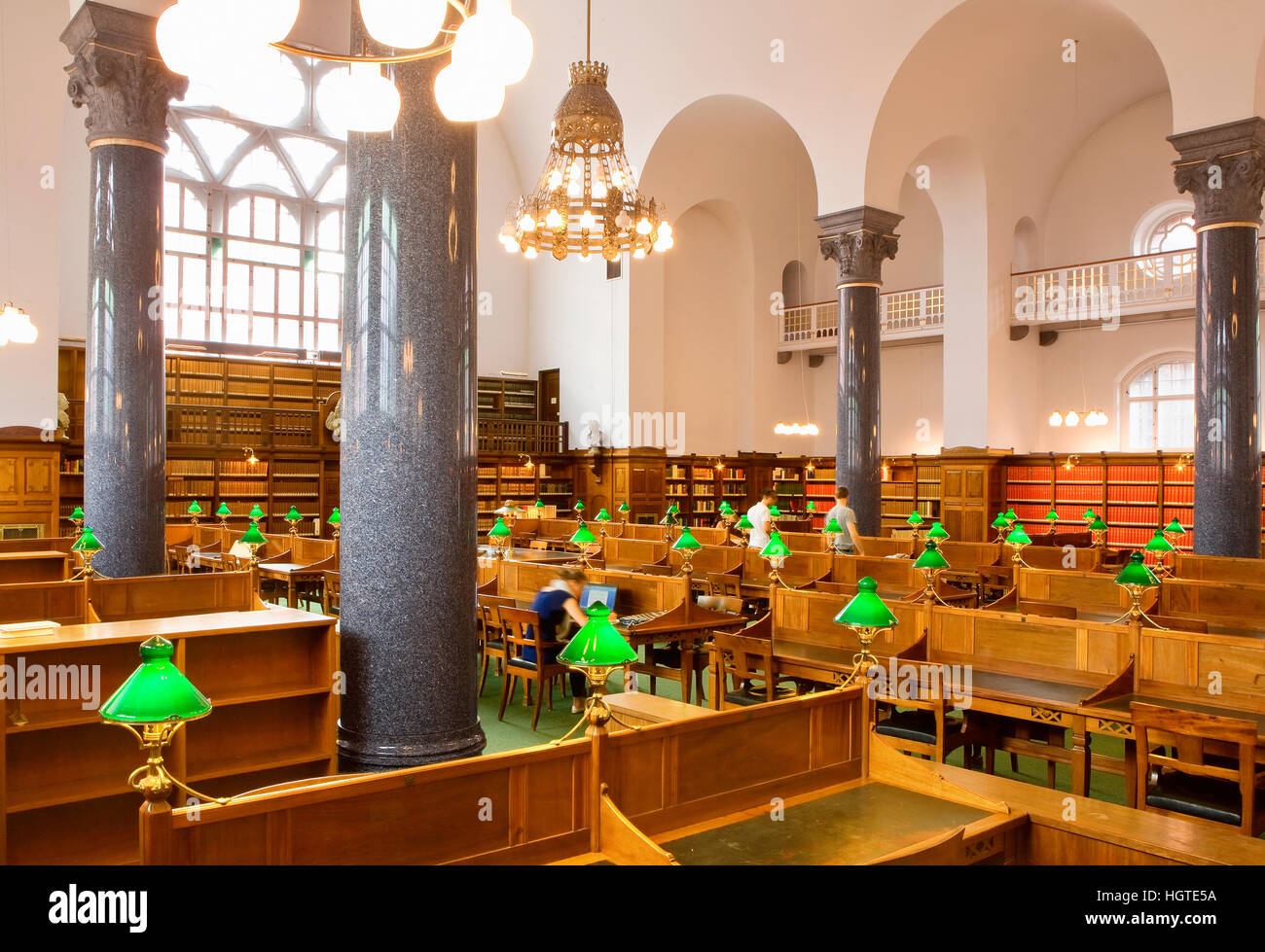 Royal Library (Black Diamond) in Copenhagen Stock Photo