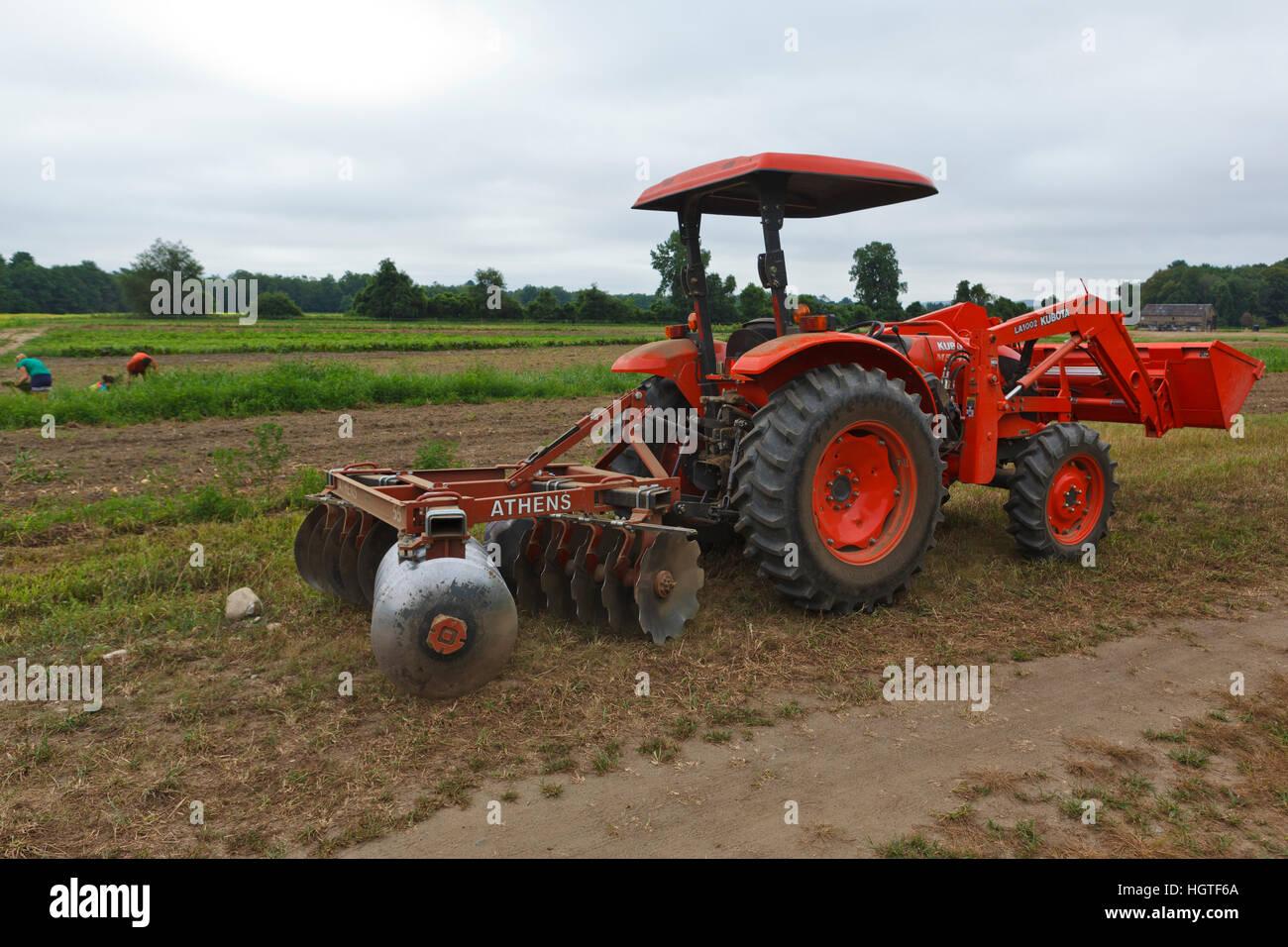 Kubota Tractor In Stock Photos & Kubota Tractor In Stock Images - Alamy