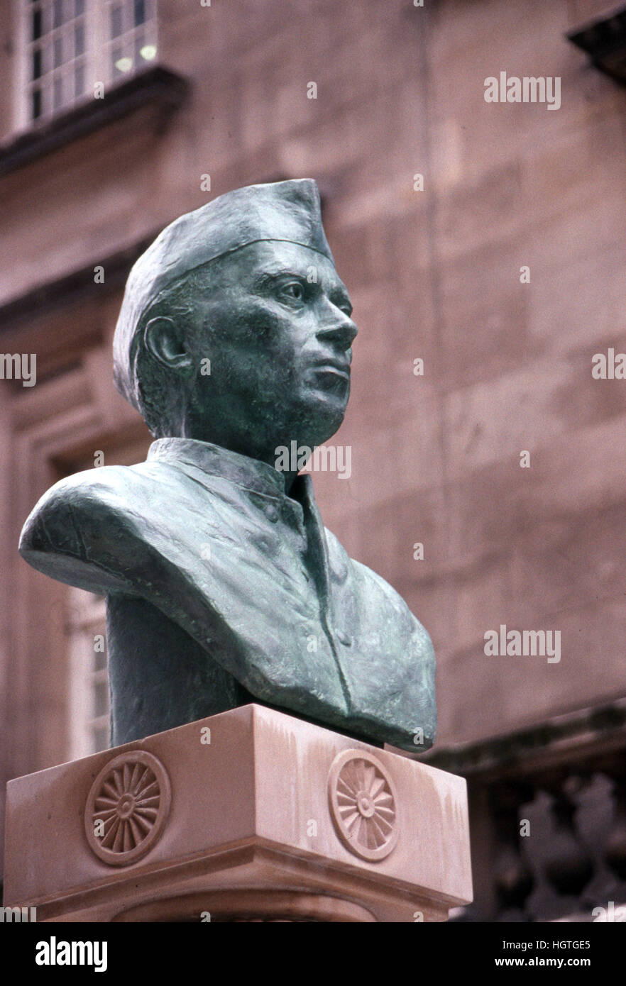 Jawaharlal Nehru first Prime Minister of India - Stock Image