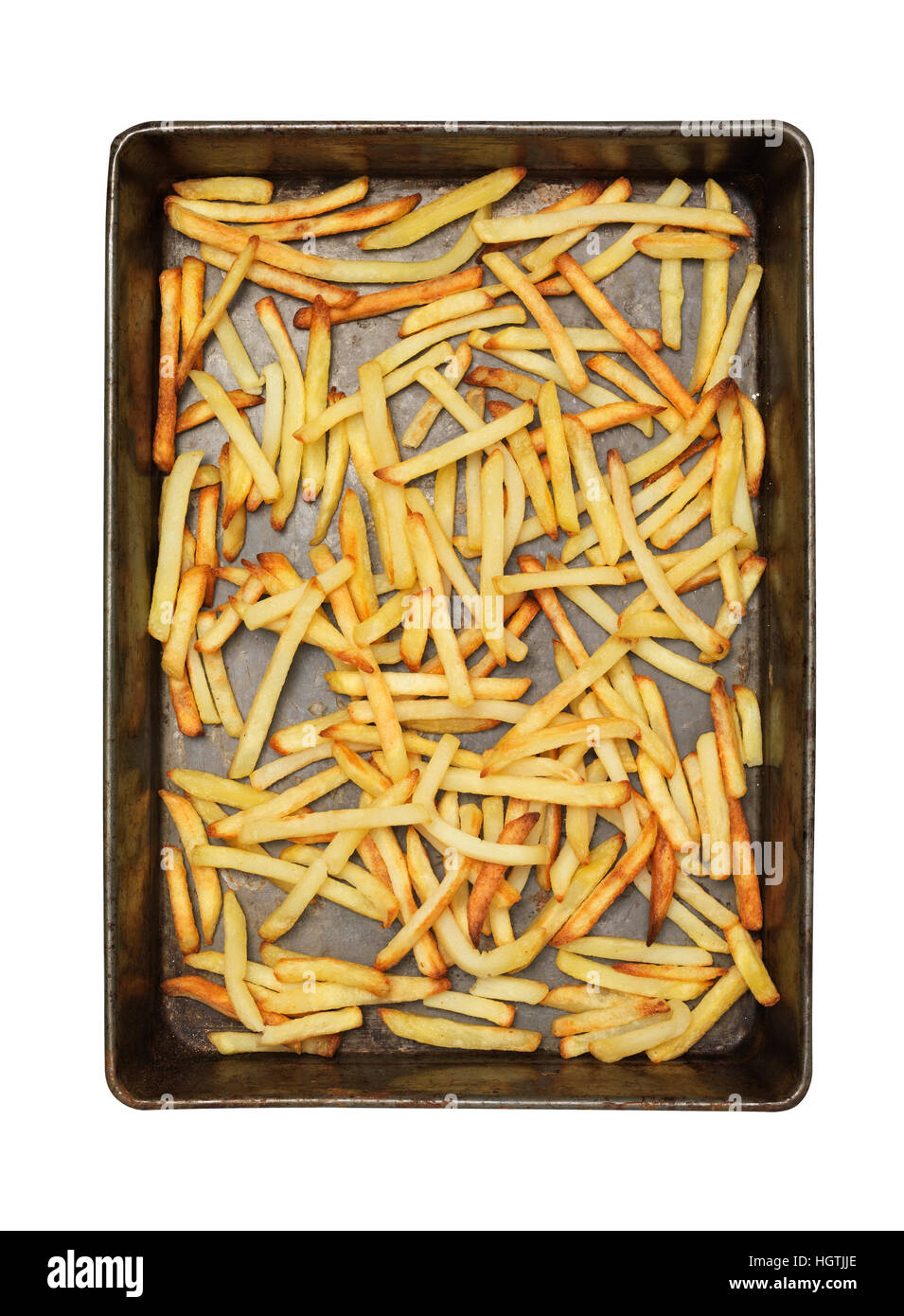 Cooked French Fries - Stock Image