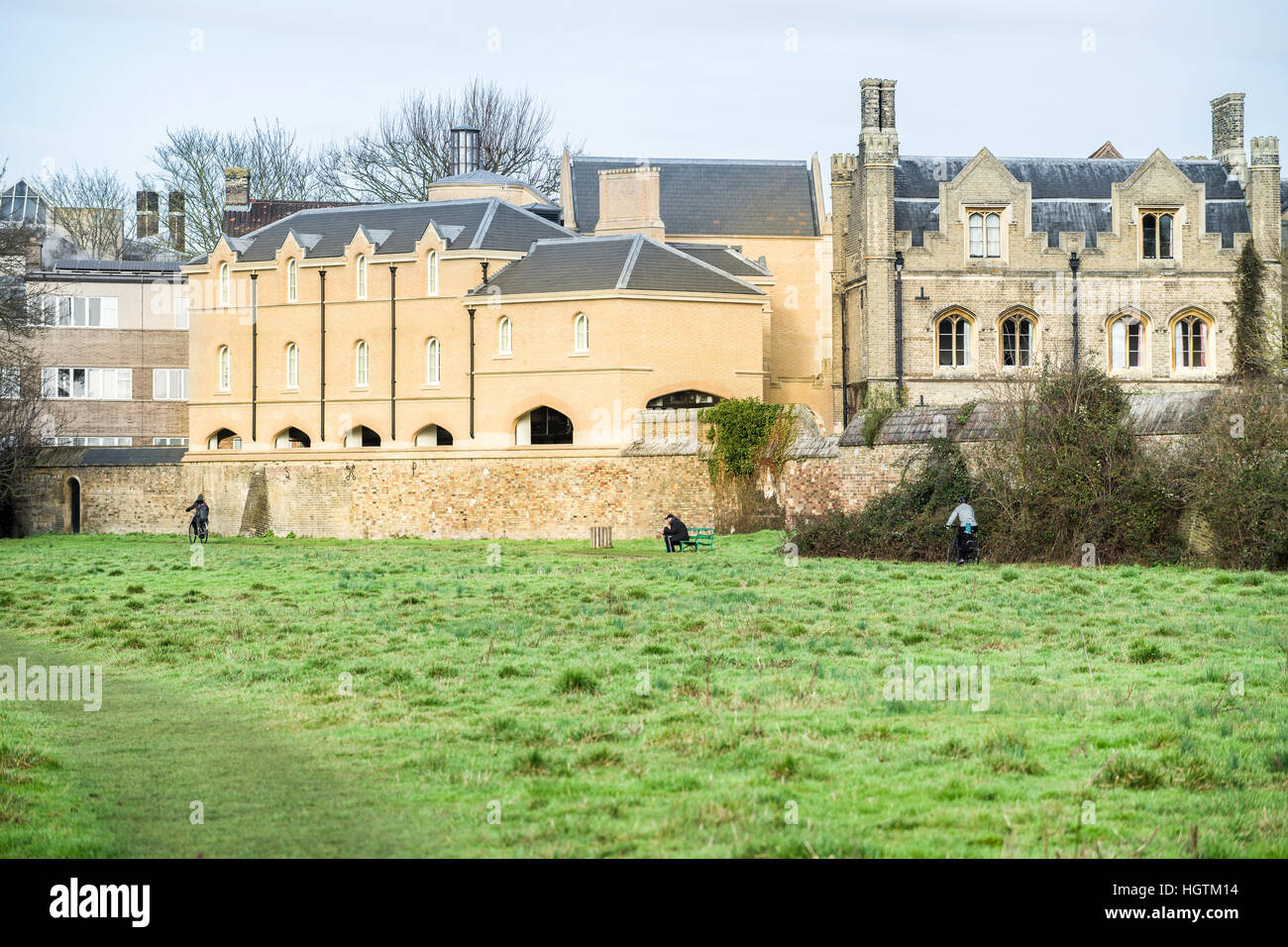 Peterhouse college, university of Cambridge, England. - Stock Image