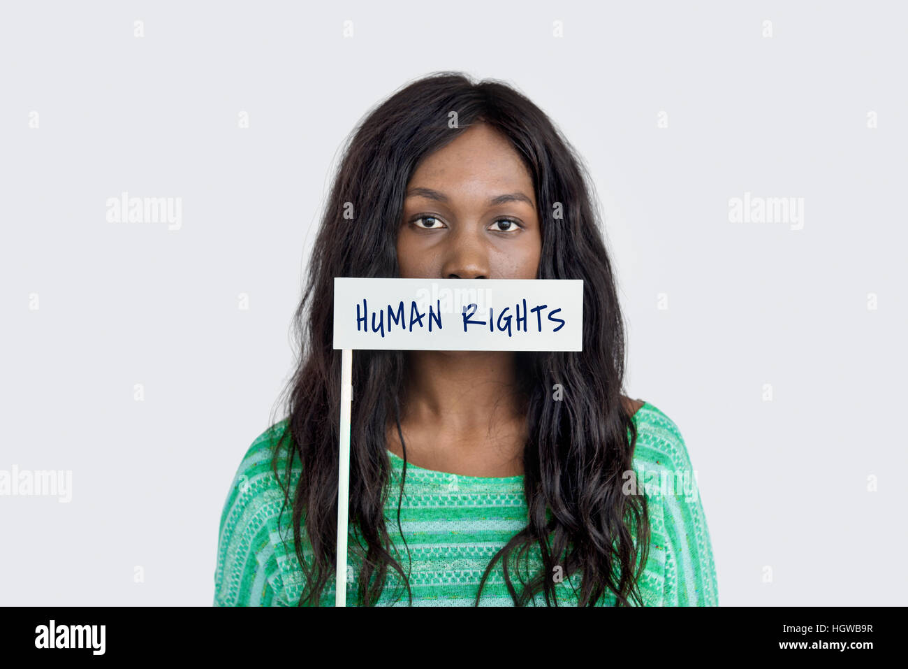 Human Rights Immunity Benefit Concept - Stock Image