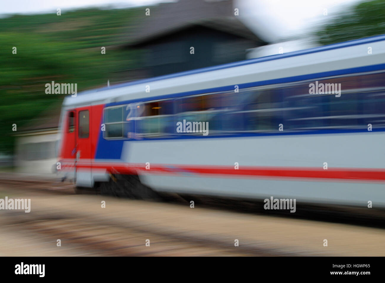 Train, Austrian Federal Railways - Stock Image
