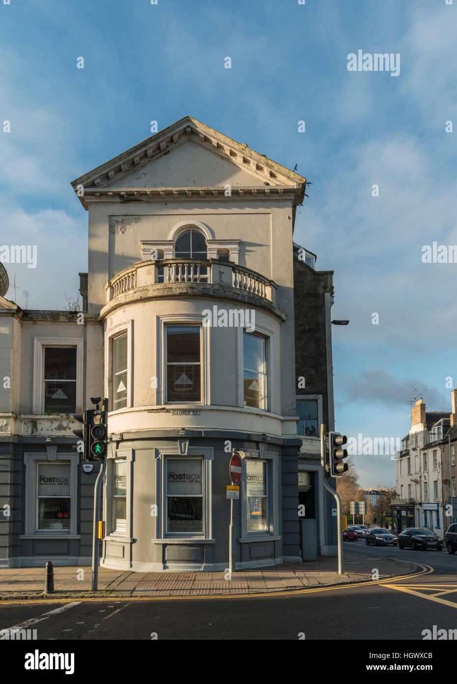 Post Box restaurant, ex Post Office, George Street, Perth, Scotland, UK, - Stock Image