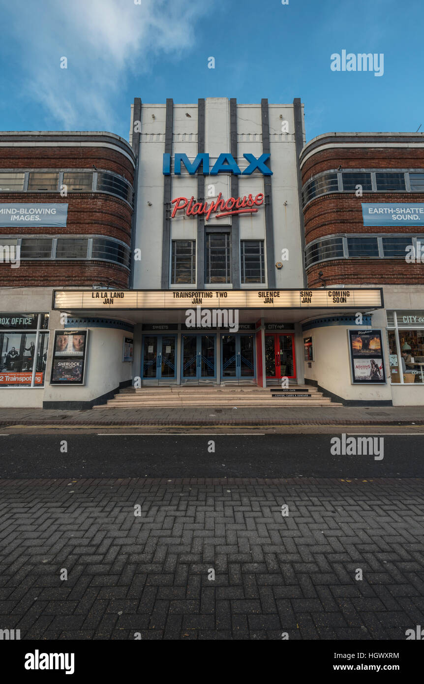 Art Deco Playhouse cinema, Perth,Scotland,UK, - Stock Image